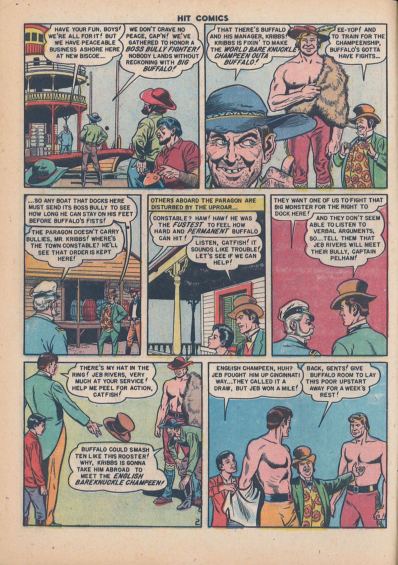 Read online Hit Comics comic -  Issue #64 - 4