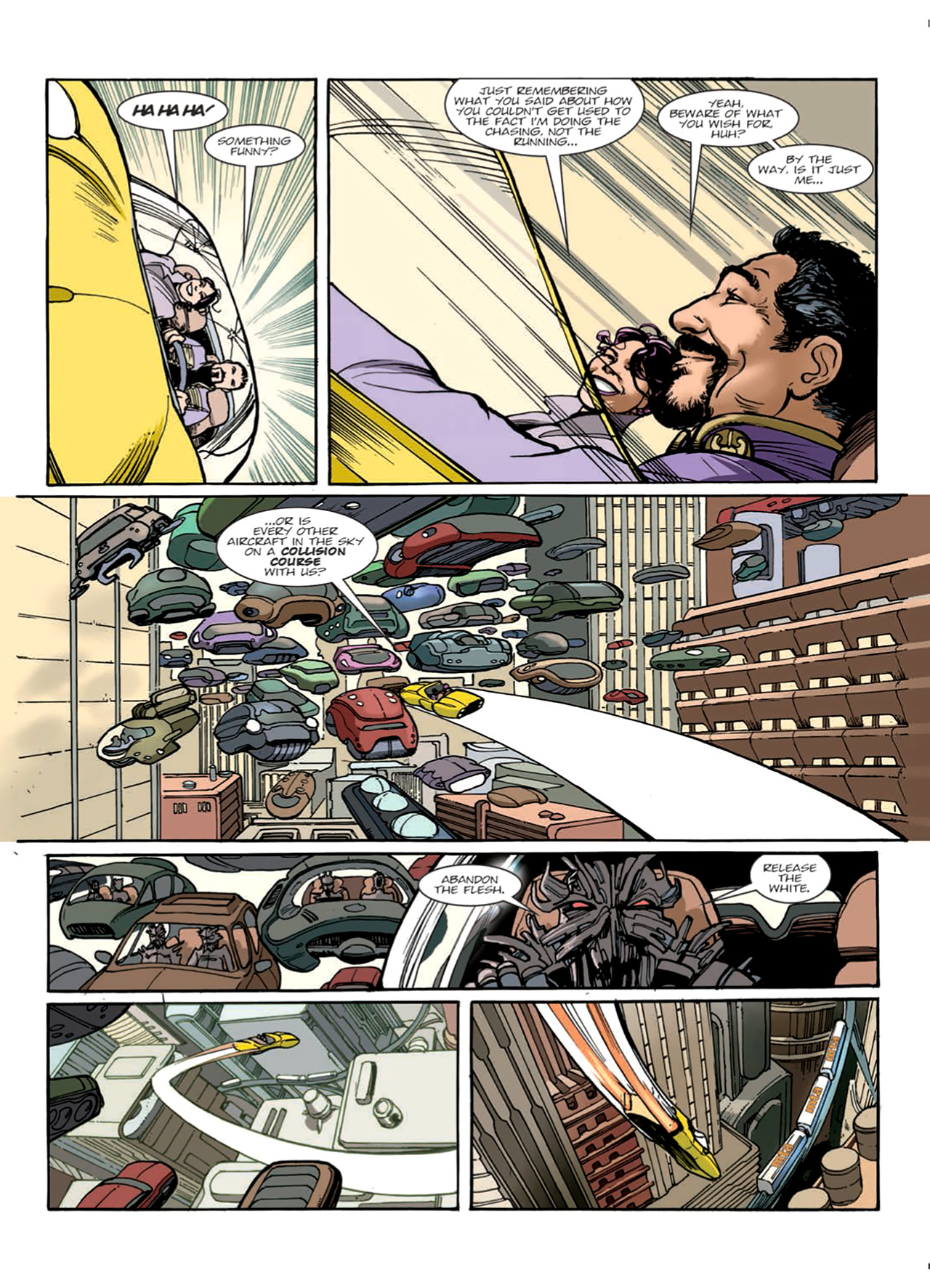 Read online Nikolai Dante comic -  Issue # TPB 9 - 51