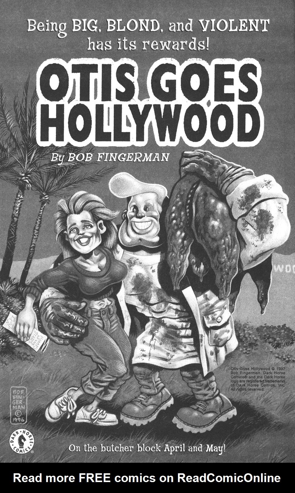 OTIS GOES HOLLYWOOD 1 2 Bob Fingerman