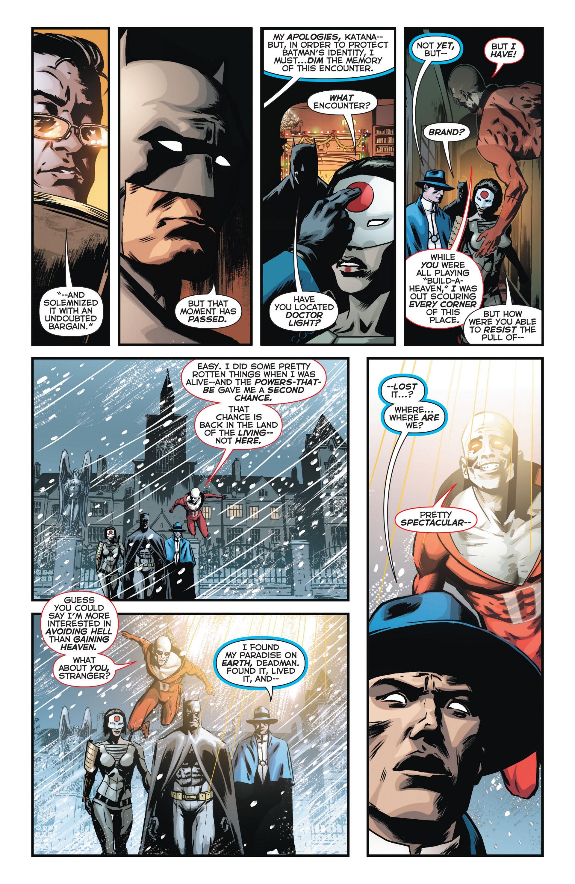 Read online Trinity of Sin: The Phantom Stranger comic -  Issue #11 - 15