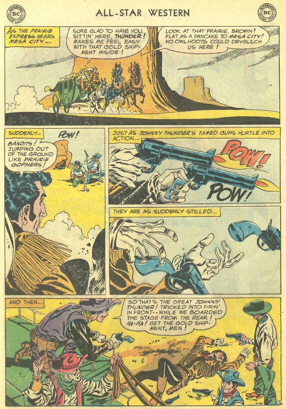 Read online All-Star Western (1951) comic -  Issue #95 - 12