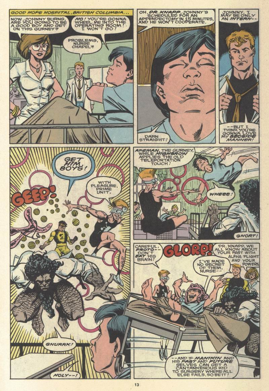 Read online Alpha Flight (1983) comic -  Issue #64 - 14