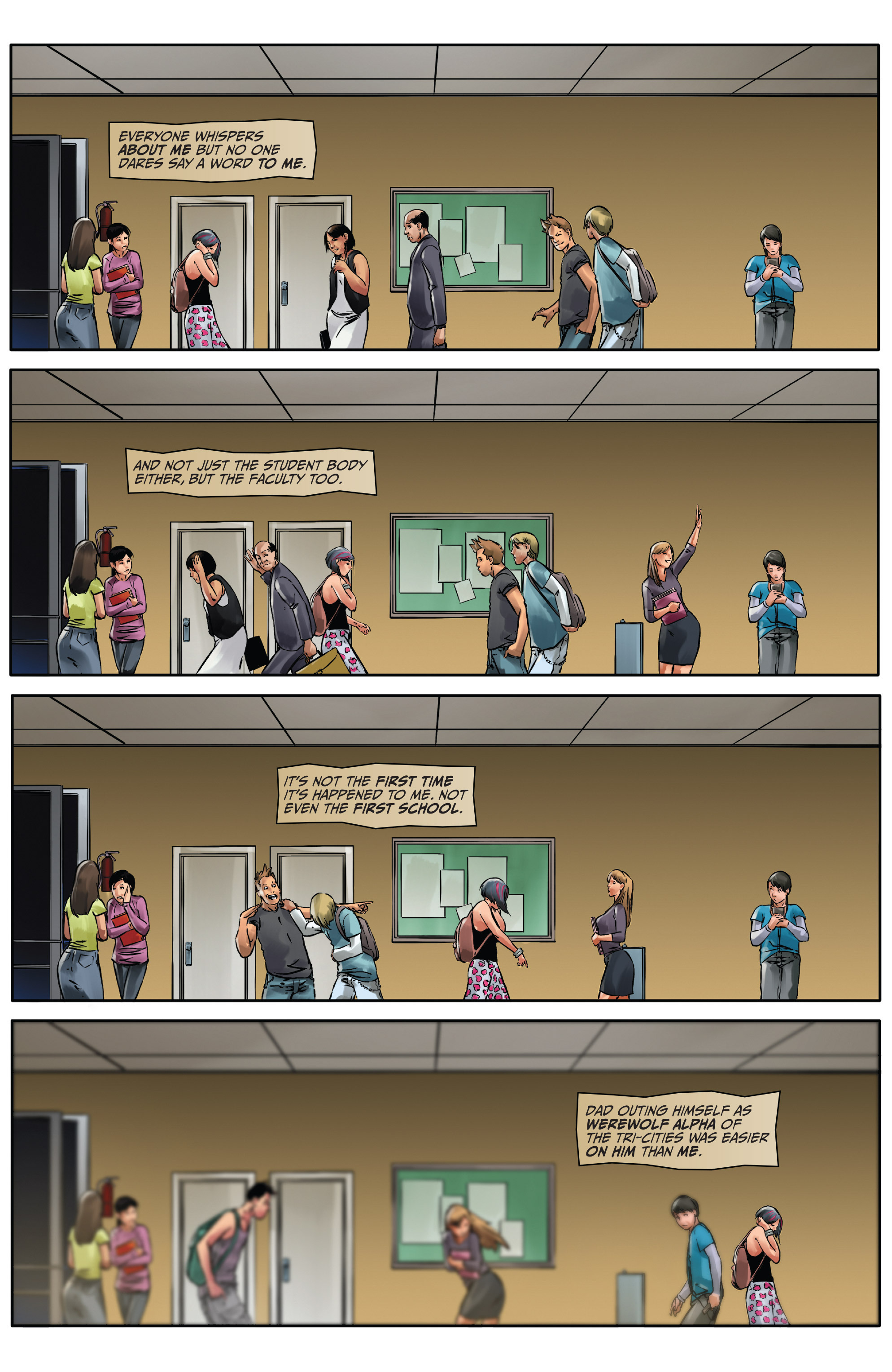 Read online Mercy Thompson comic -  Issue #2 - 4