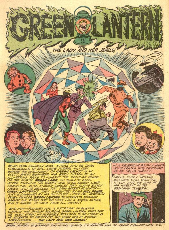 Green Lantern (1941) issue 8 - Page 3