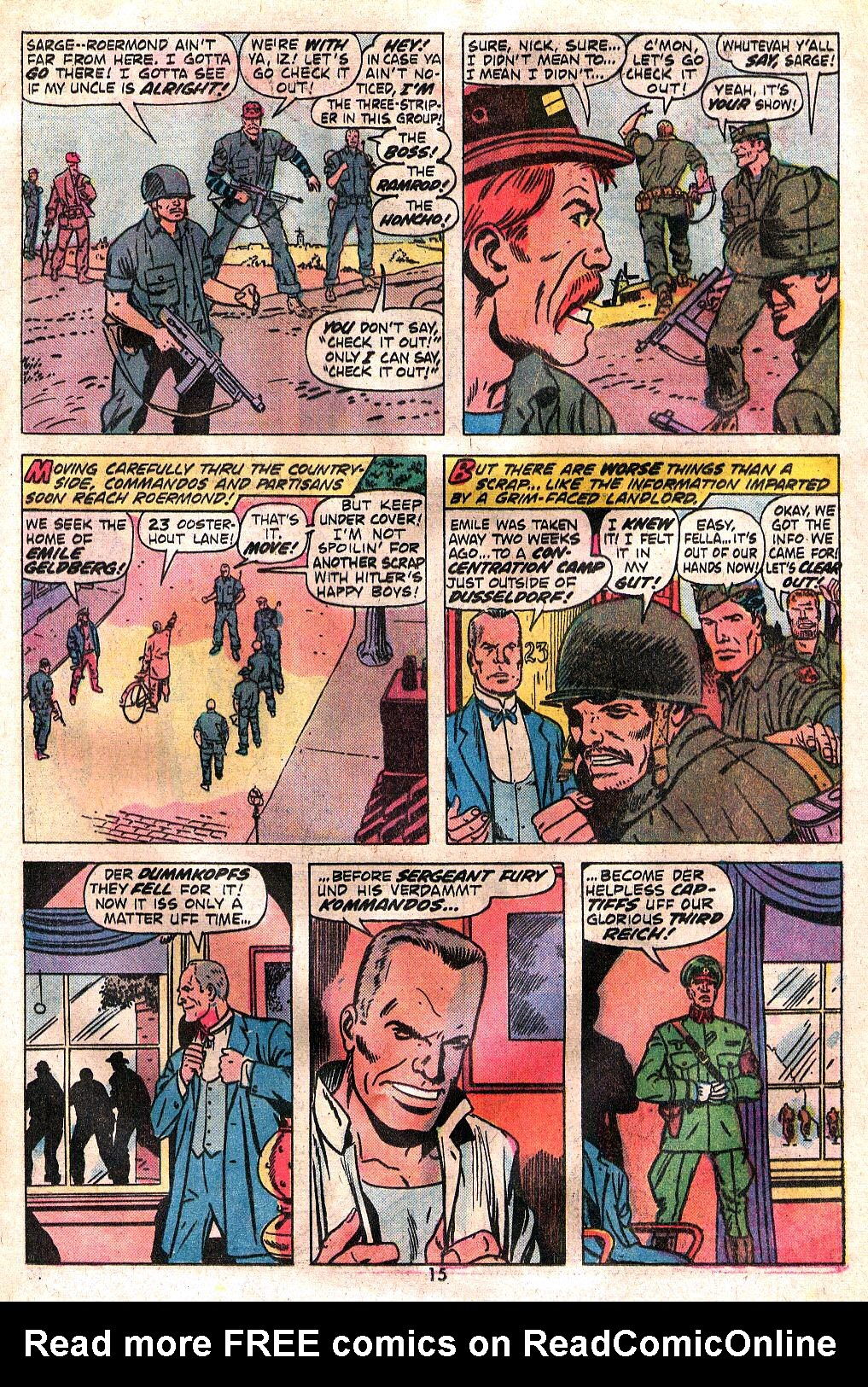Read online Sgt. Fury comic -  Issue #120 - 17