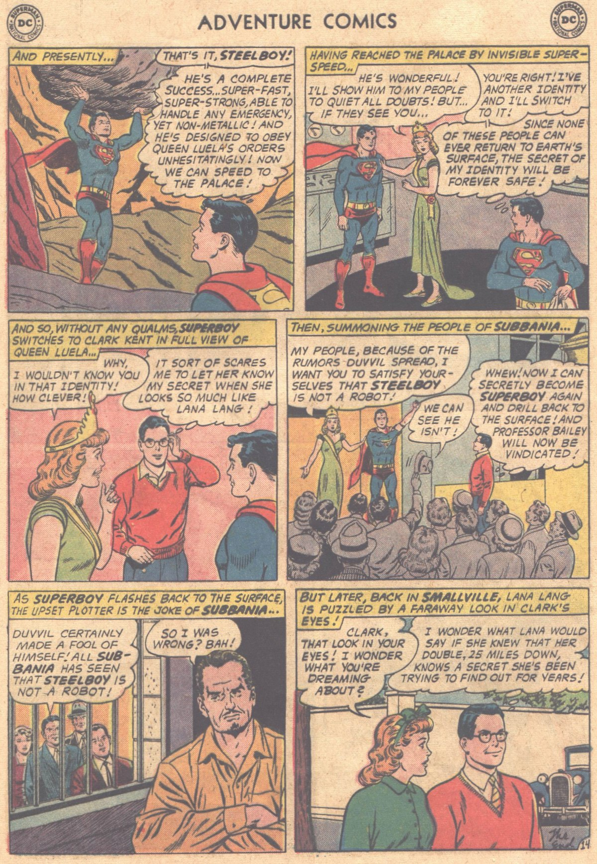 Read online Adventure Comics (1938) comic -  Issue #302 - 18