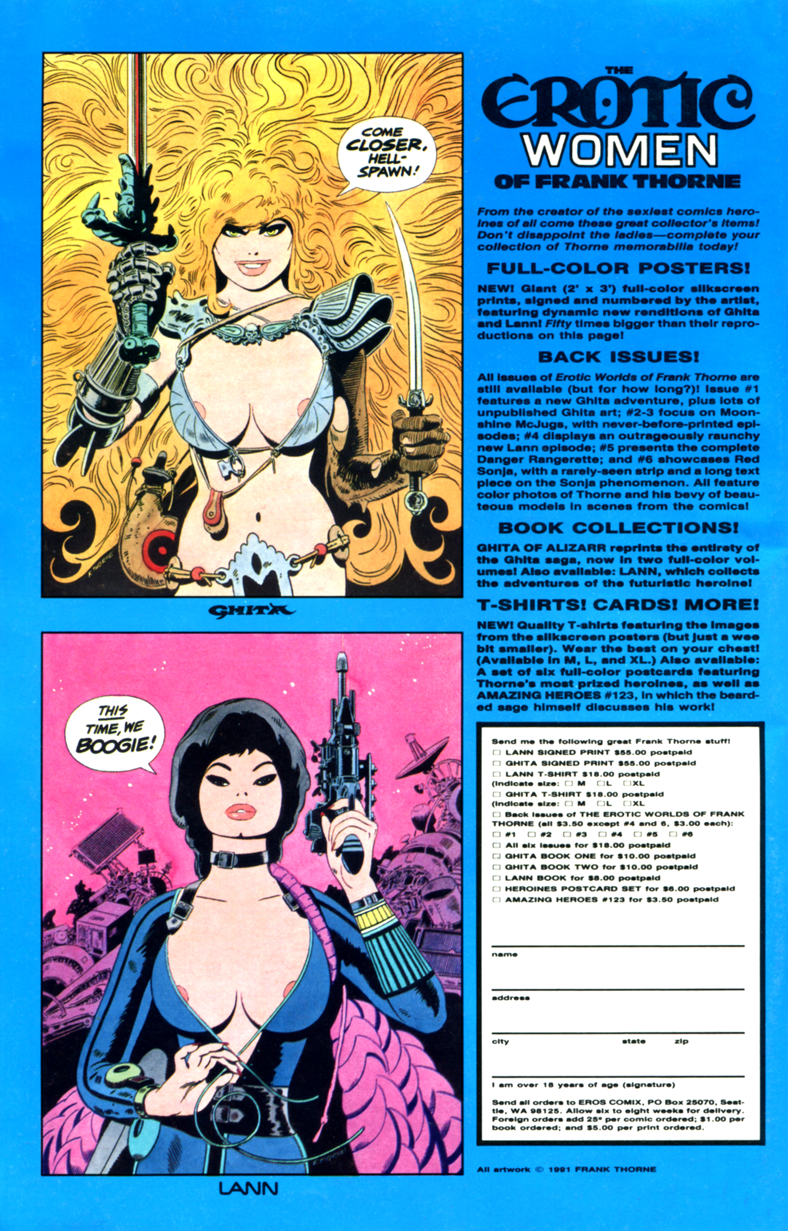 Read online Amazing Heroes comic -  Issue #189 - 47