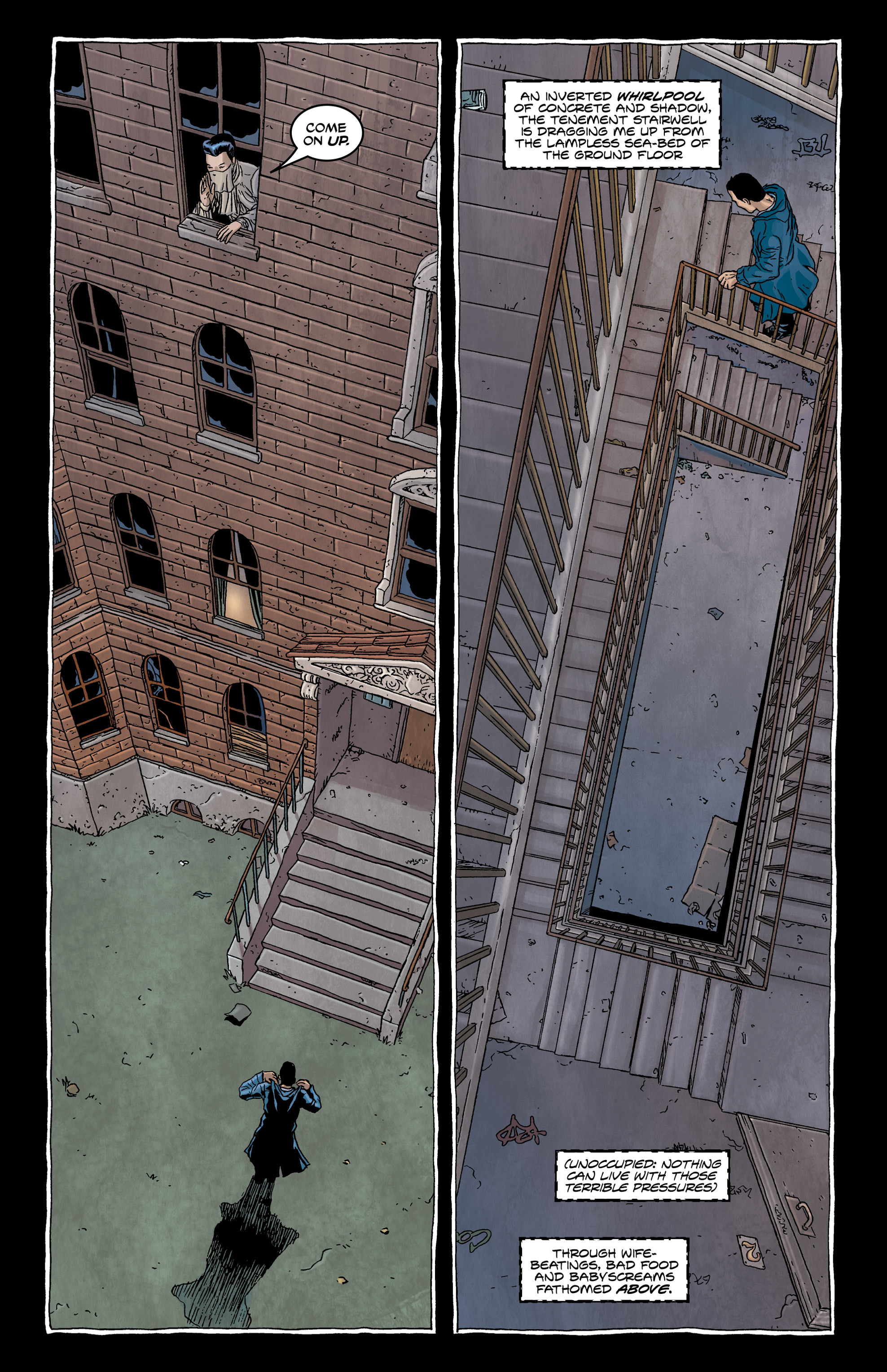 Read online Alan Moore's The Courtyard comic -  Issue # TPB - 34