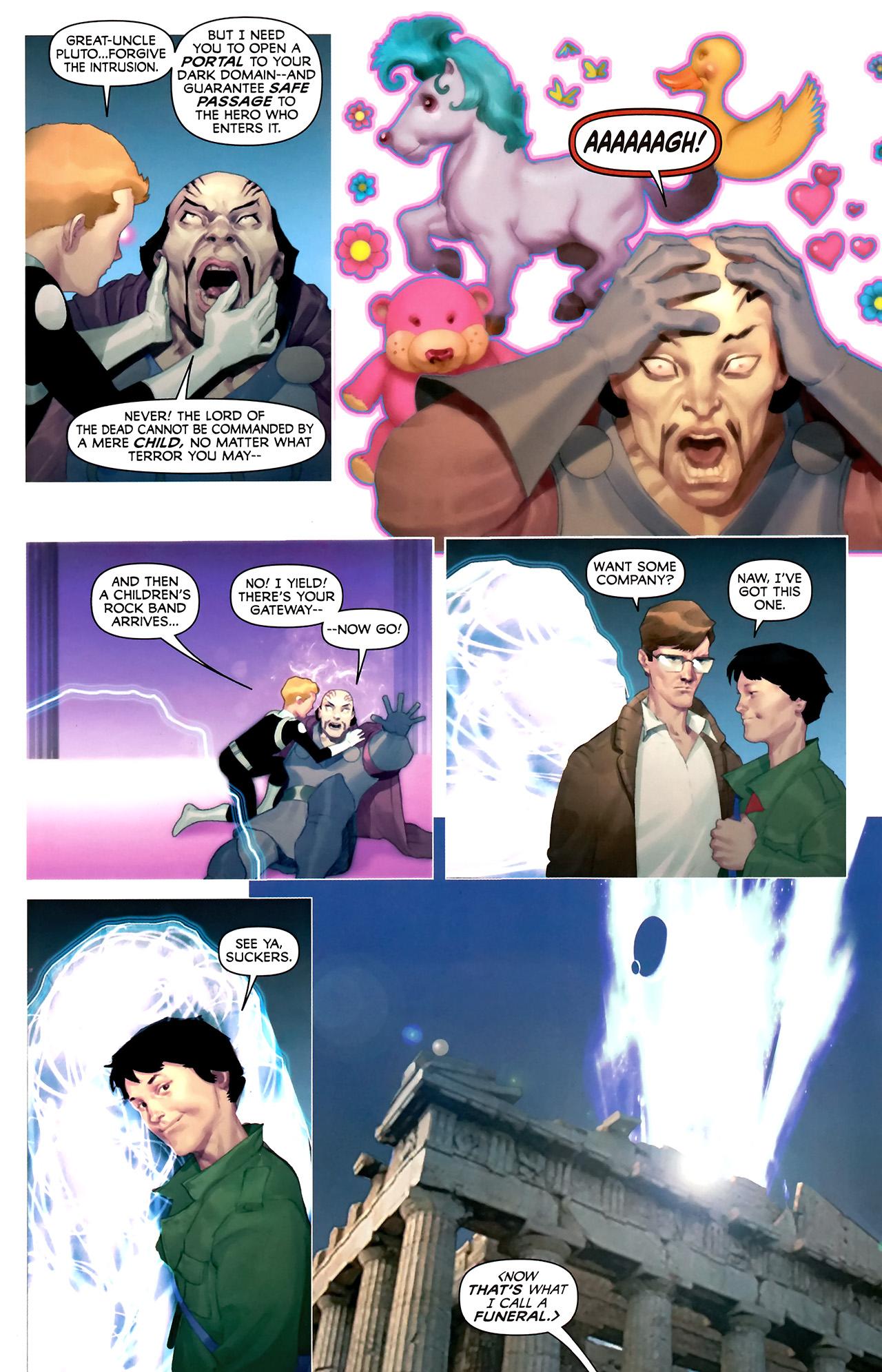 Read online Hercules: Fall of an Avenger comic -  Issue #2 - 19