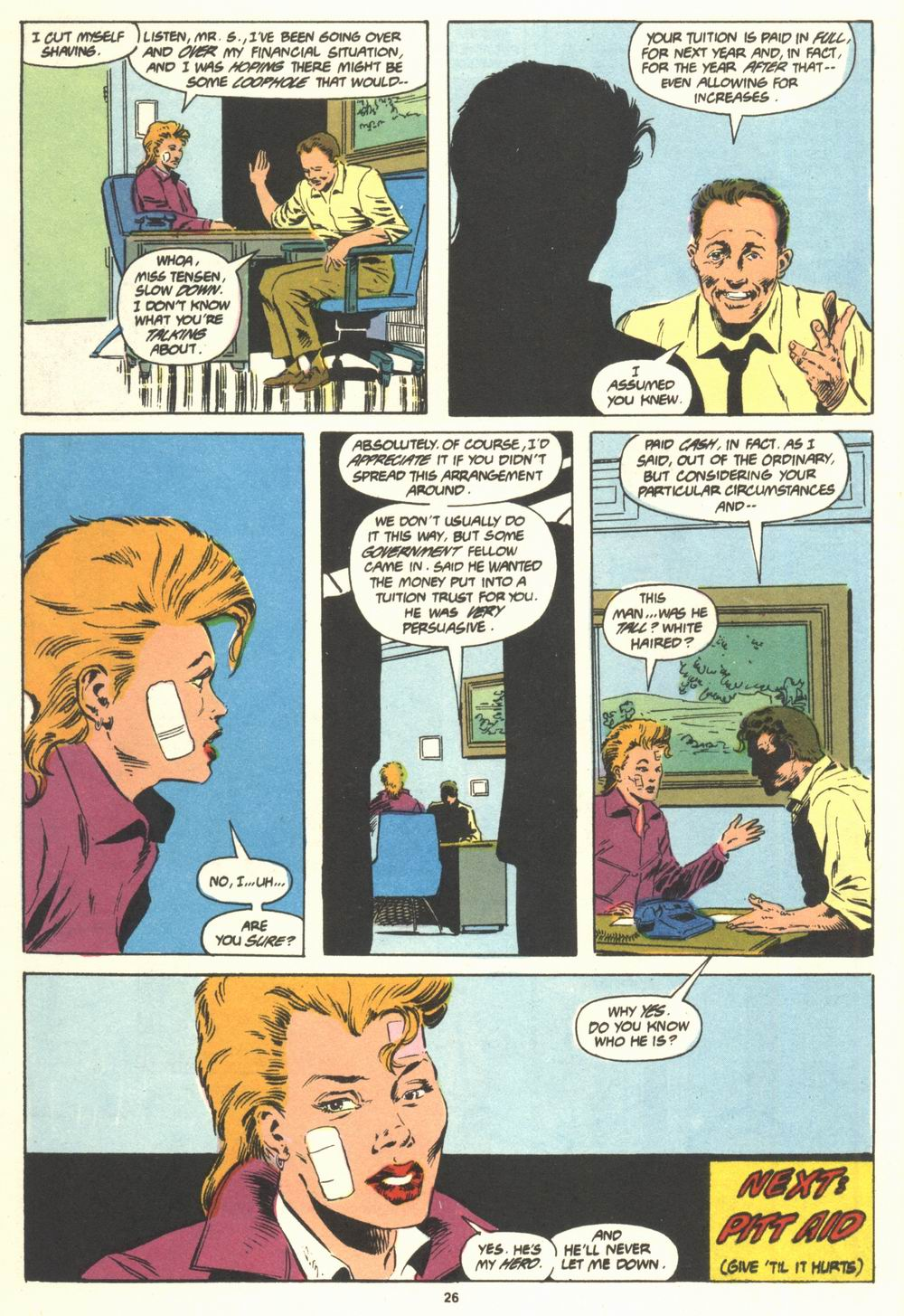 Read online Justice (1986) comic -  Issue #19 - 28