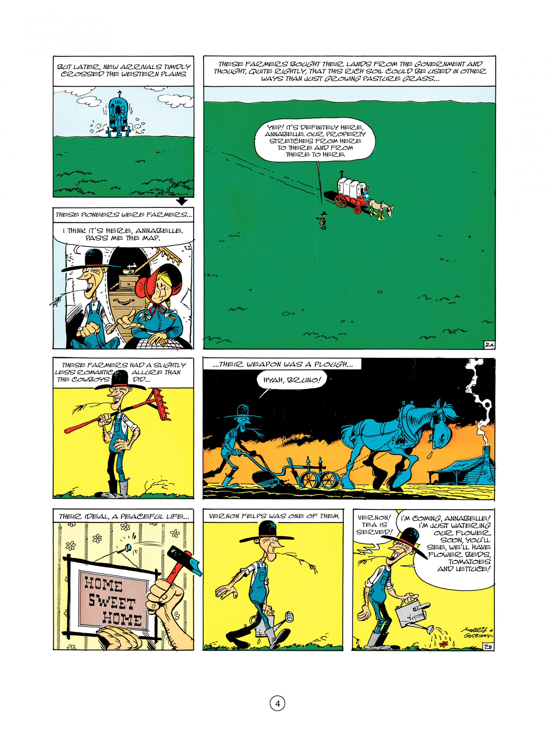 Read online A Lucky Luke Adventure comic -  Issue #7 - 4