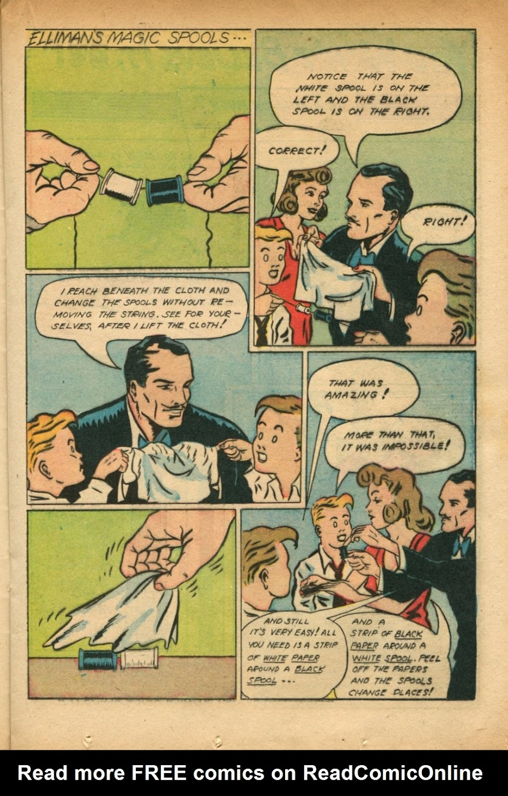 Read online Super-Magician Comics comic -  Issue #51 - 21