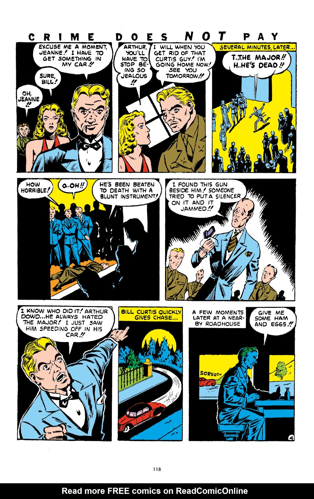 Read online Crime Does Not Pay Archives comic -  Issue # TPB 1 (Part 2) - 21