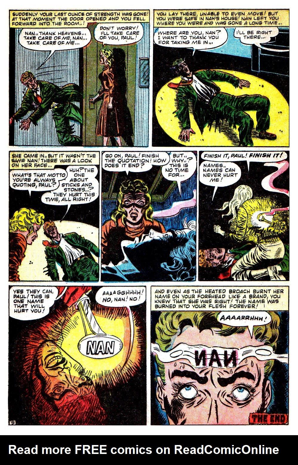 Read online Adventures into Weird Worlds comic -  Issue #8 - 26