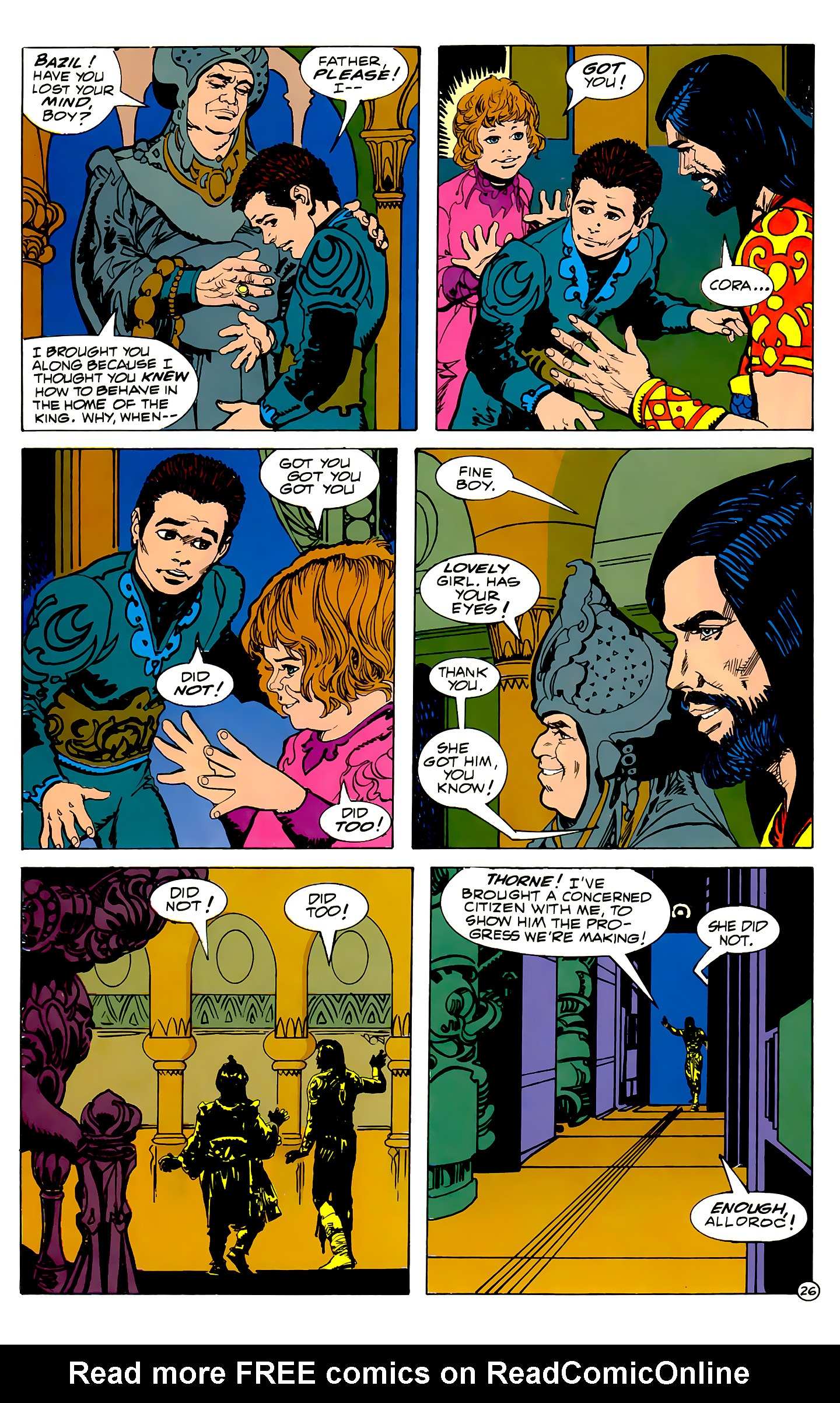 Read online Atlantis Chronicles comic -  Issue #2 - 26