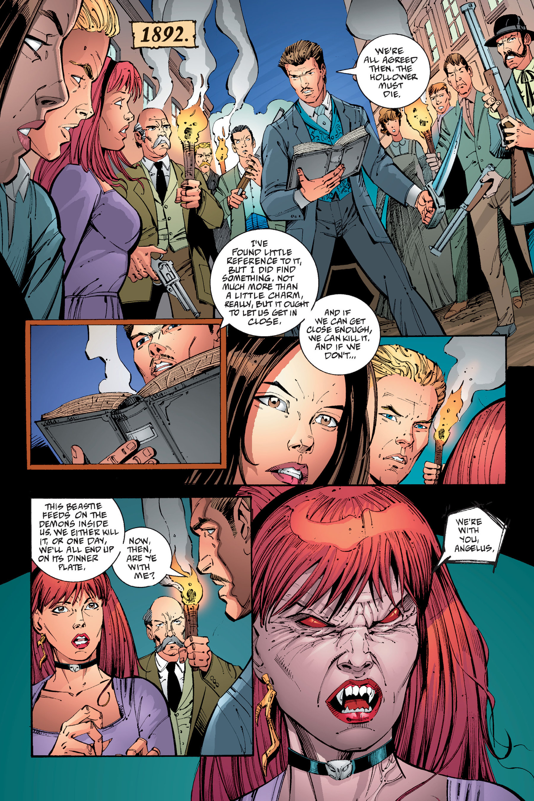 Read online Buffy the Vampire Slayer: Omnibus comic -  Issue # TPB 4 - 315