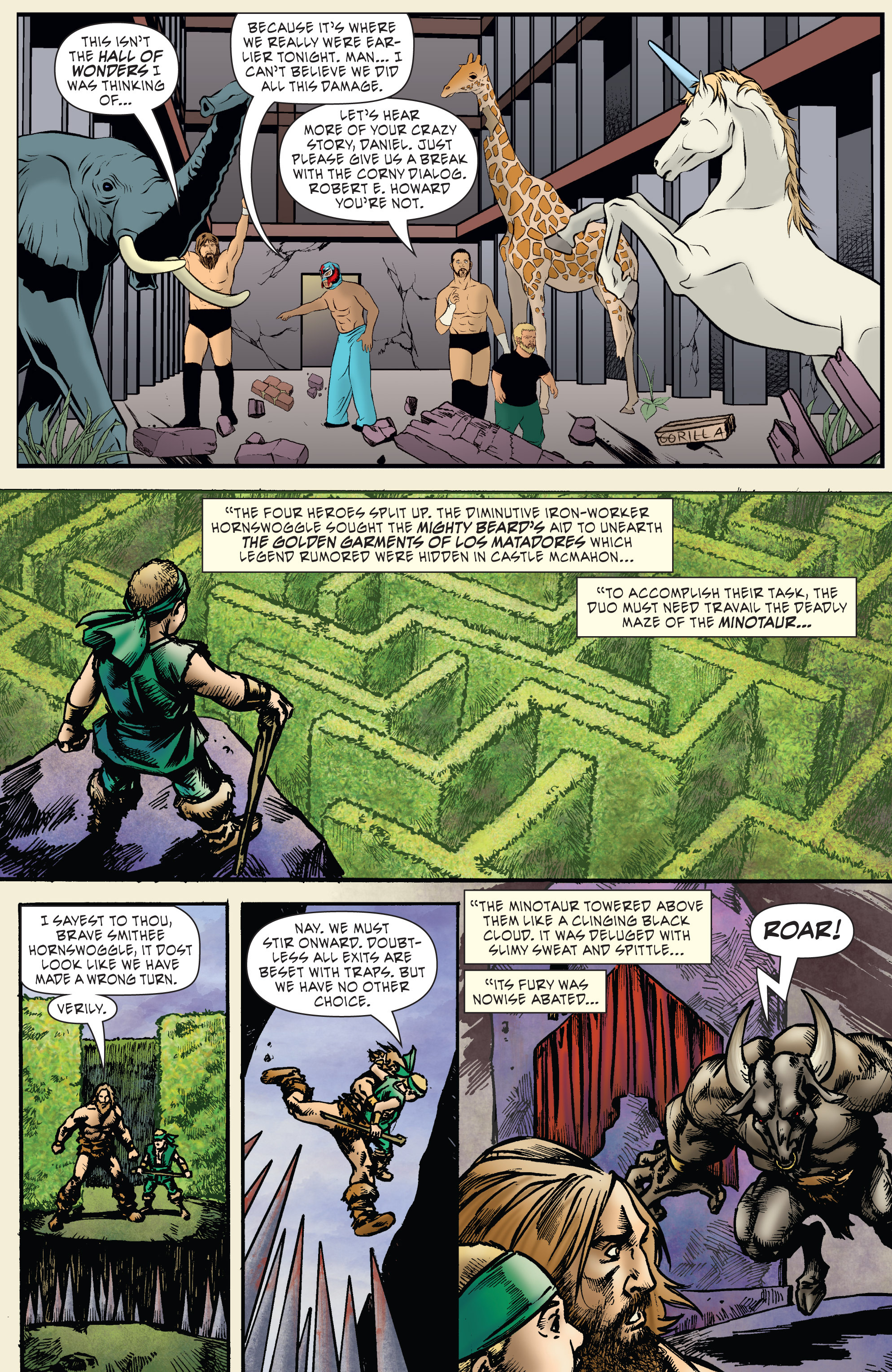Read online WWE Superstars comic -  Issue #7 - 16