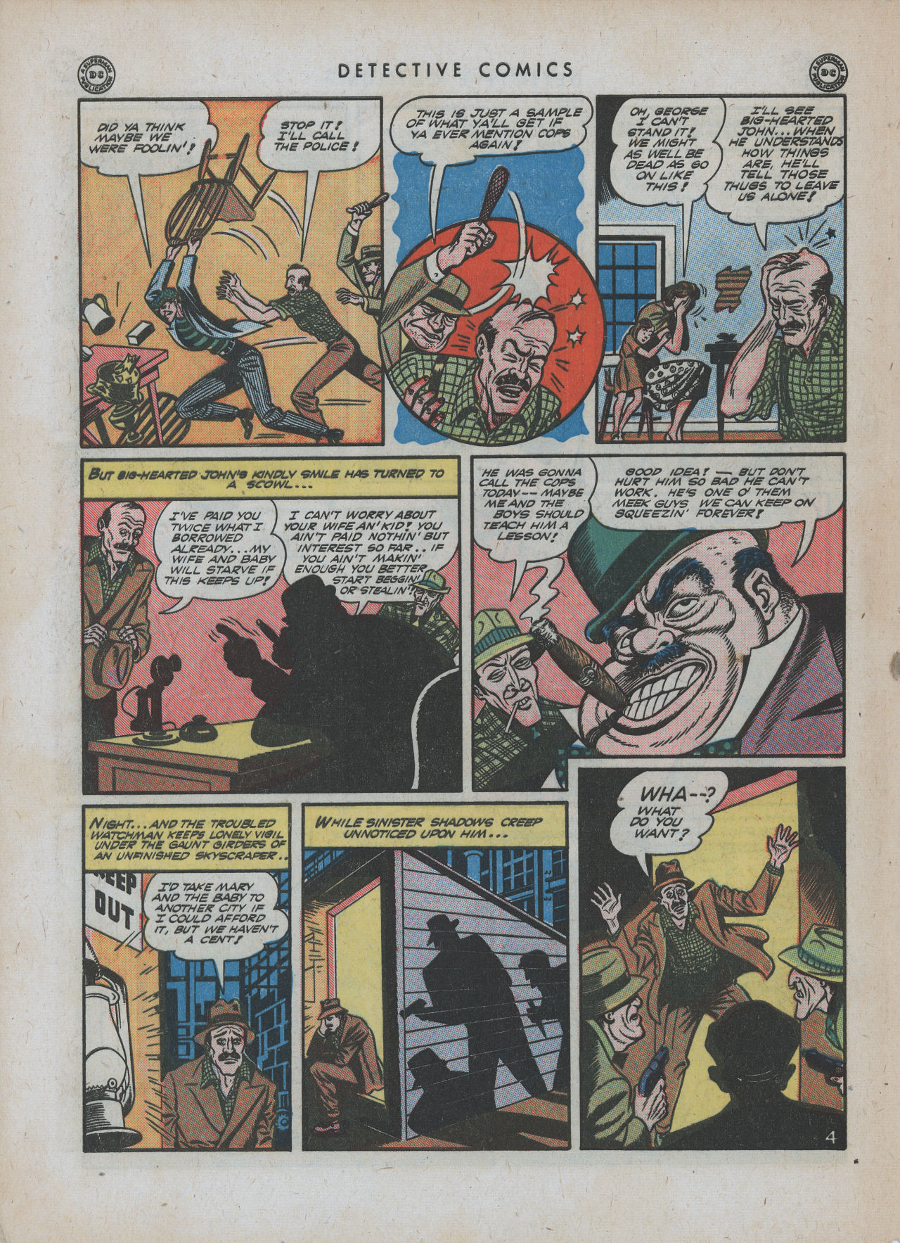 Read online Detective Comics (1937) comic -  Issue #88 - 6