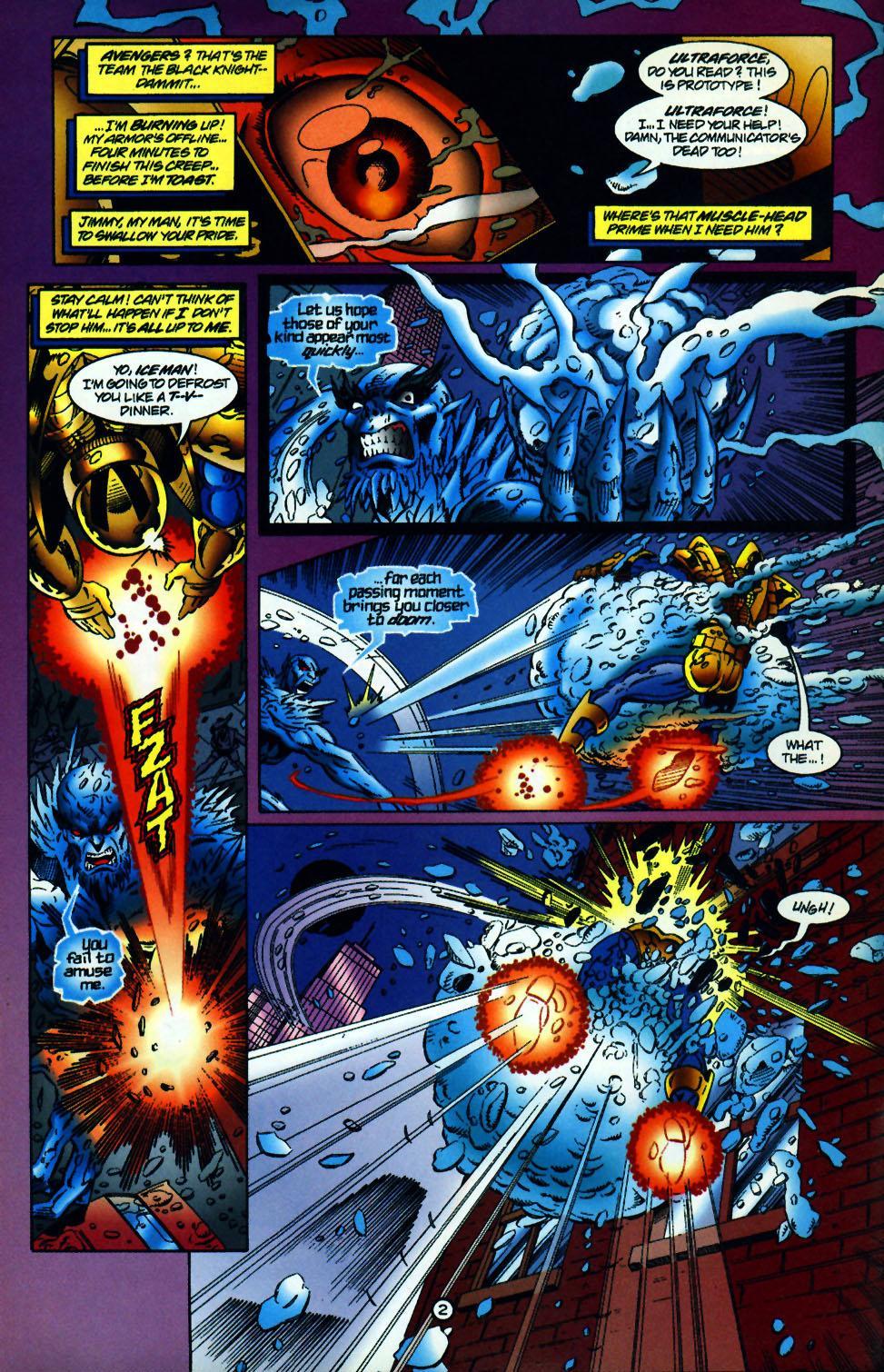 Read online UltraForce (1994) comic -  Issue #10 - 3