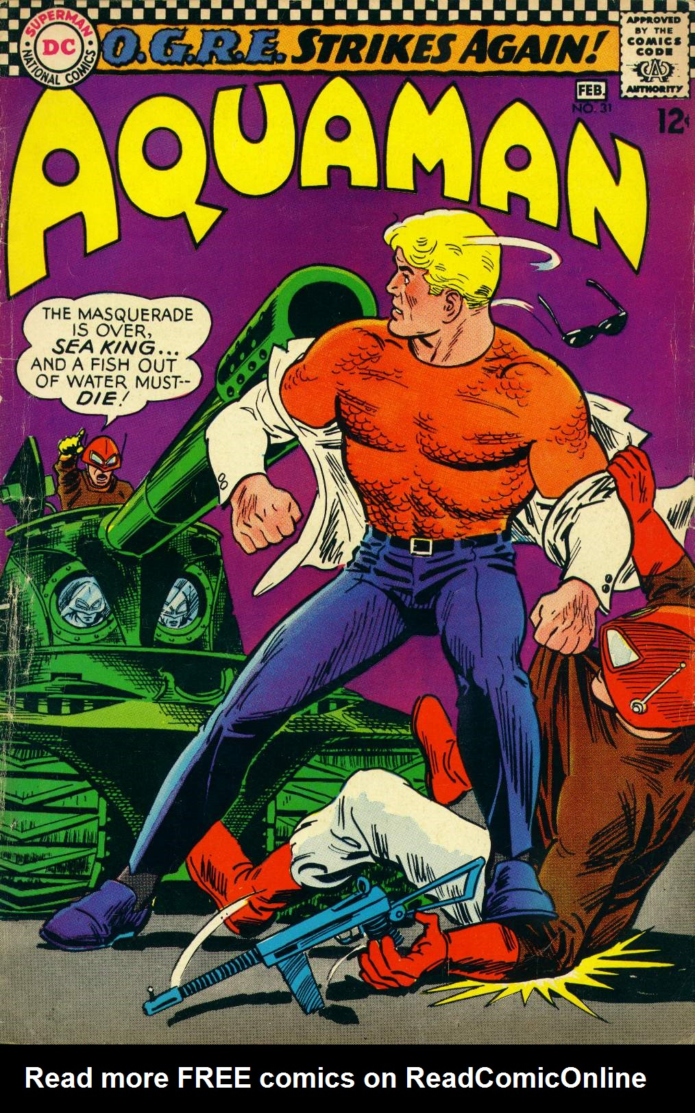 Read online Aquaman (1962) comic -  Issue #31 - 1