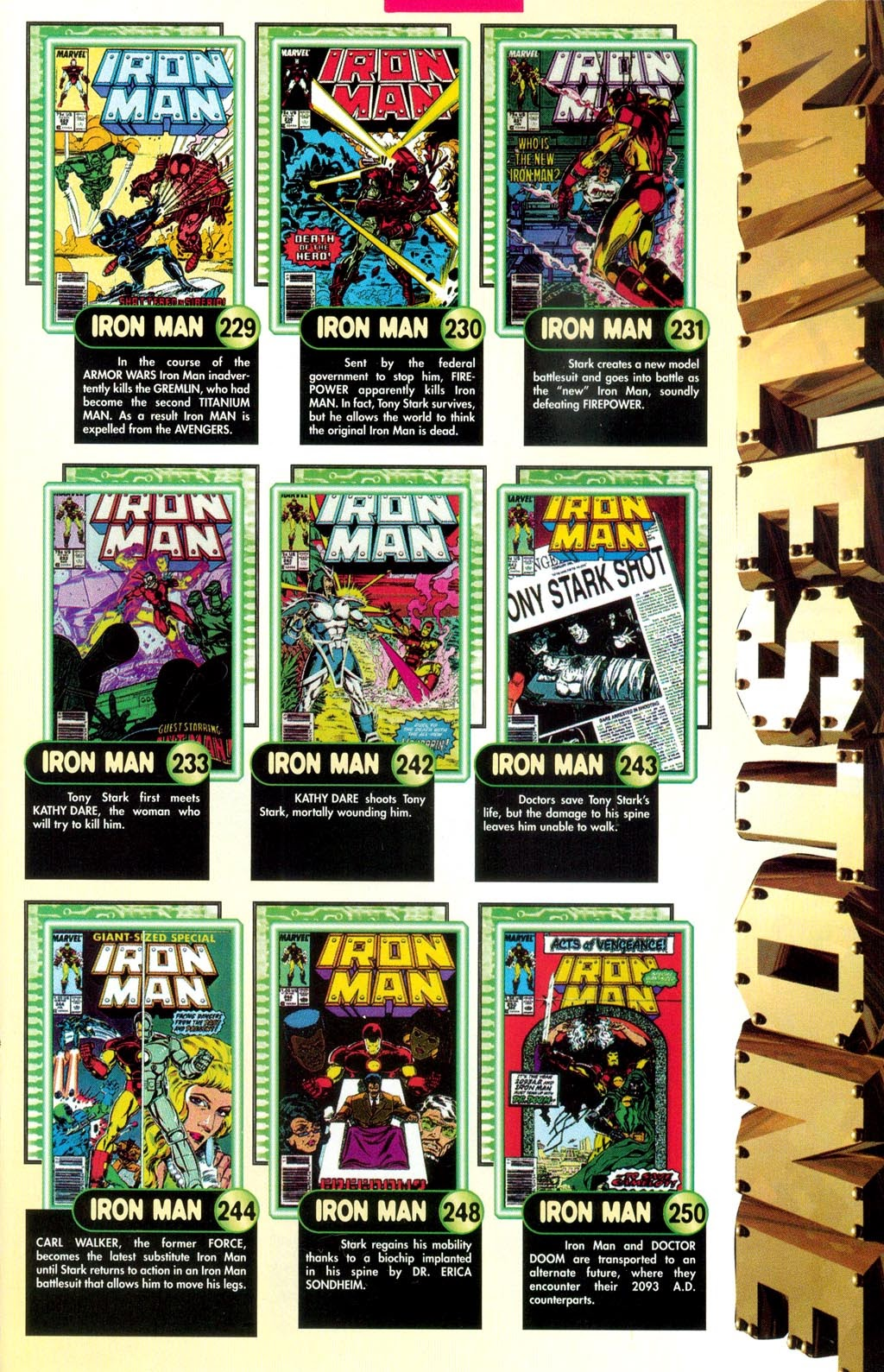 Read online Iron Man: The Legend comic -  Issue # Full - 13