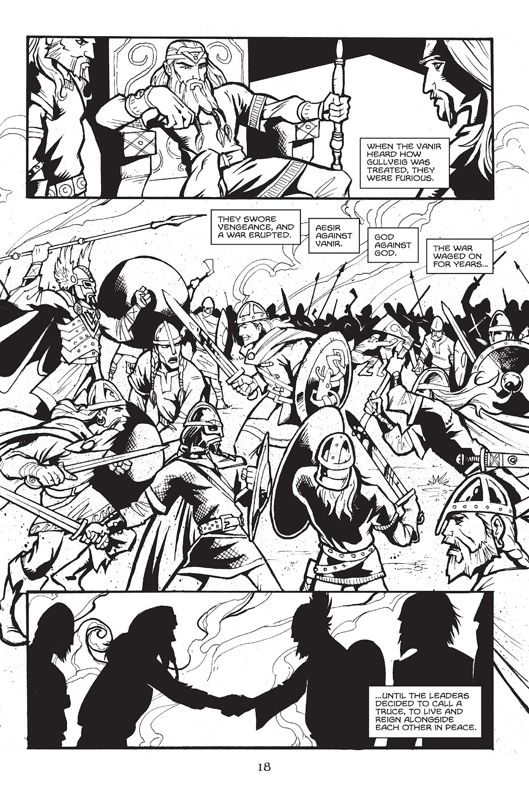 Read online Gods of Asgard comic -  Issue # TPB (Part 1) - 19