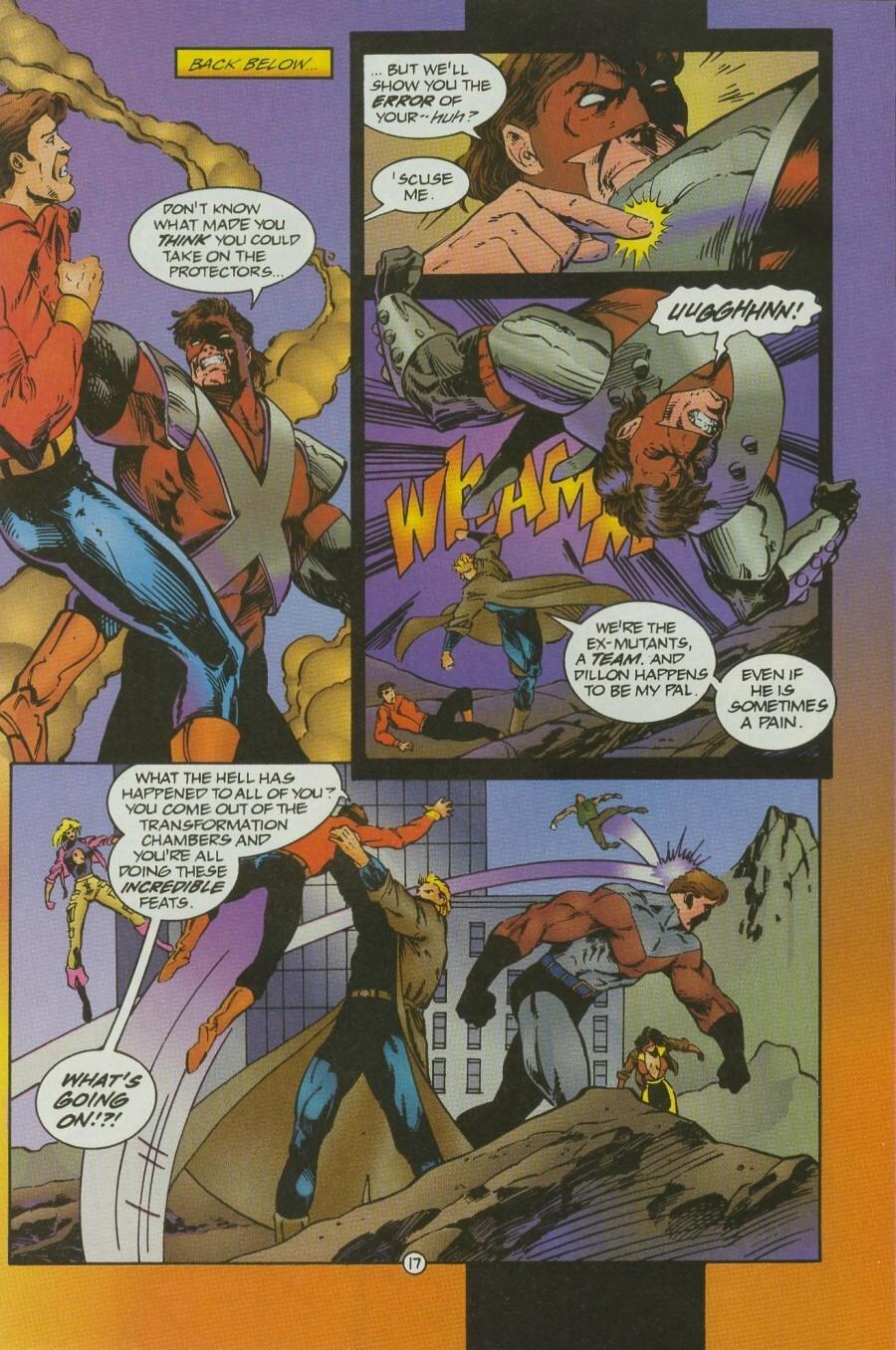 Read online Ex-Mutants comic -  Issue #12 - 21