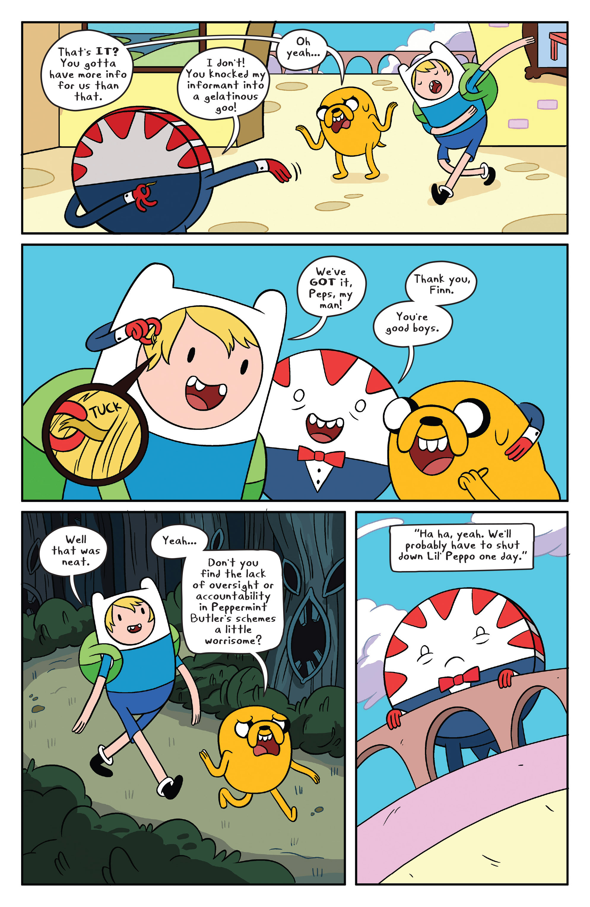 Read online Adventure Time comic -  Issue #41 - 15