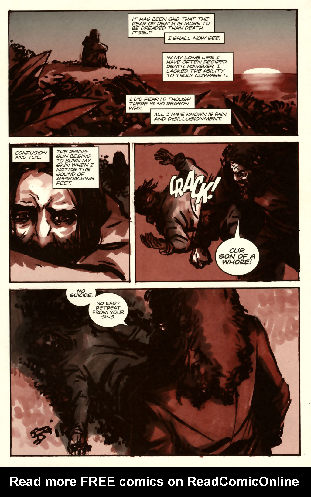 Read online Sea of Red comic -  Issue #8 - 7