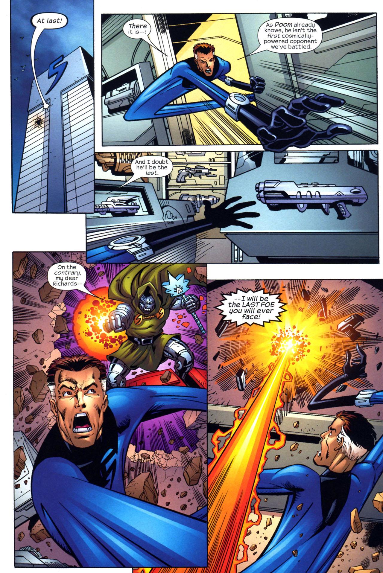 Read online Fantastic Five (2007) comic -  Issue #2 - 19
