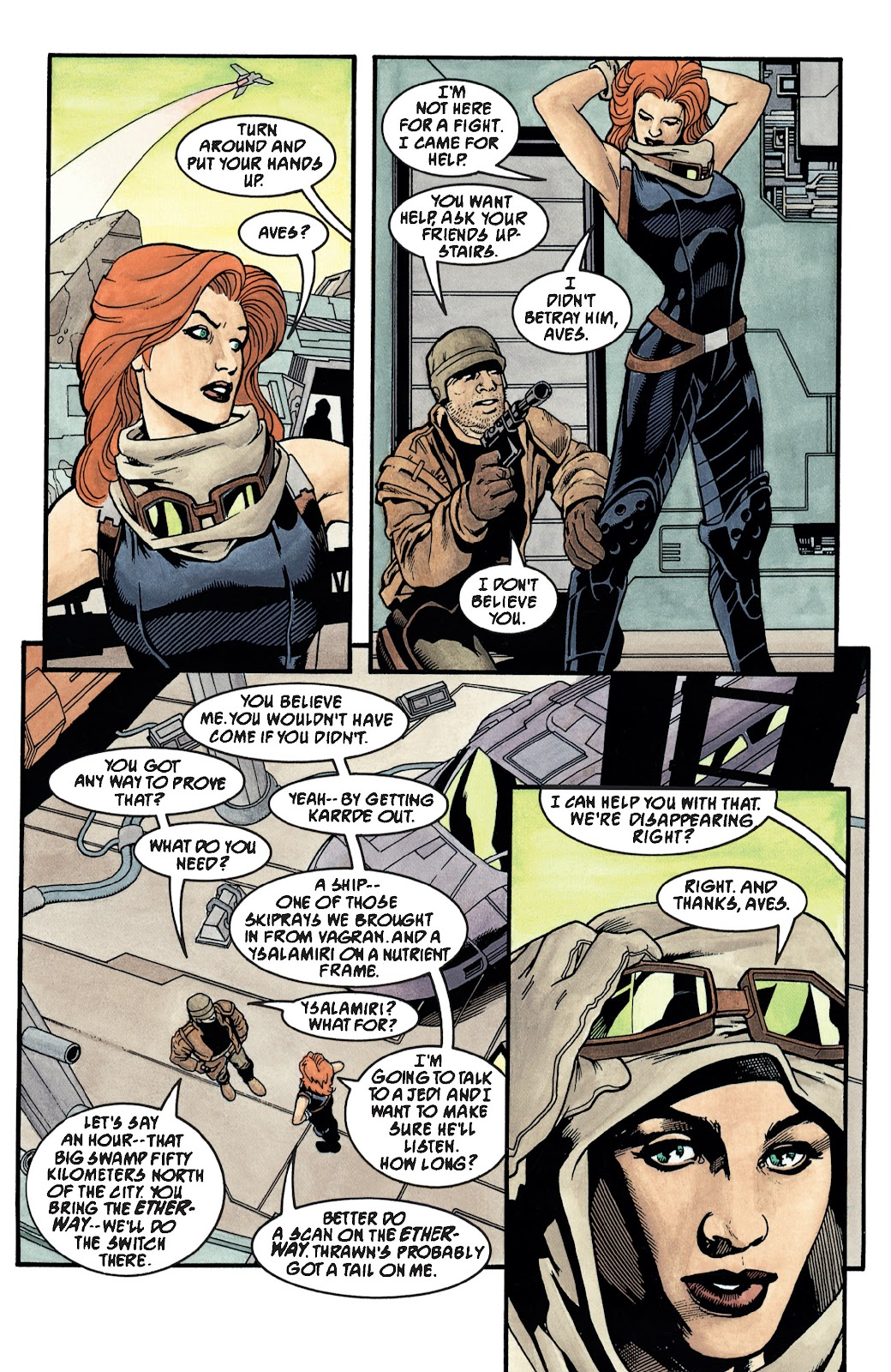 Read online Star Wars Legends: The New Republic - Epic Collection comic -  Issue # TPB 4 (Part 3) - 40