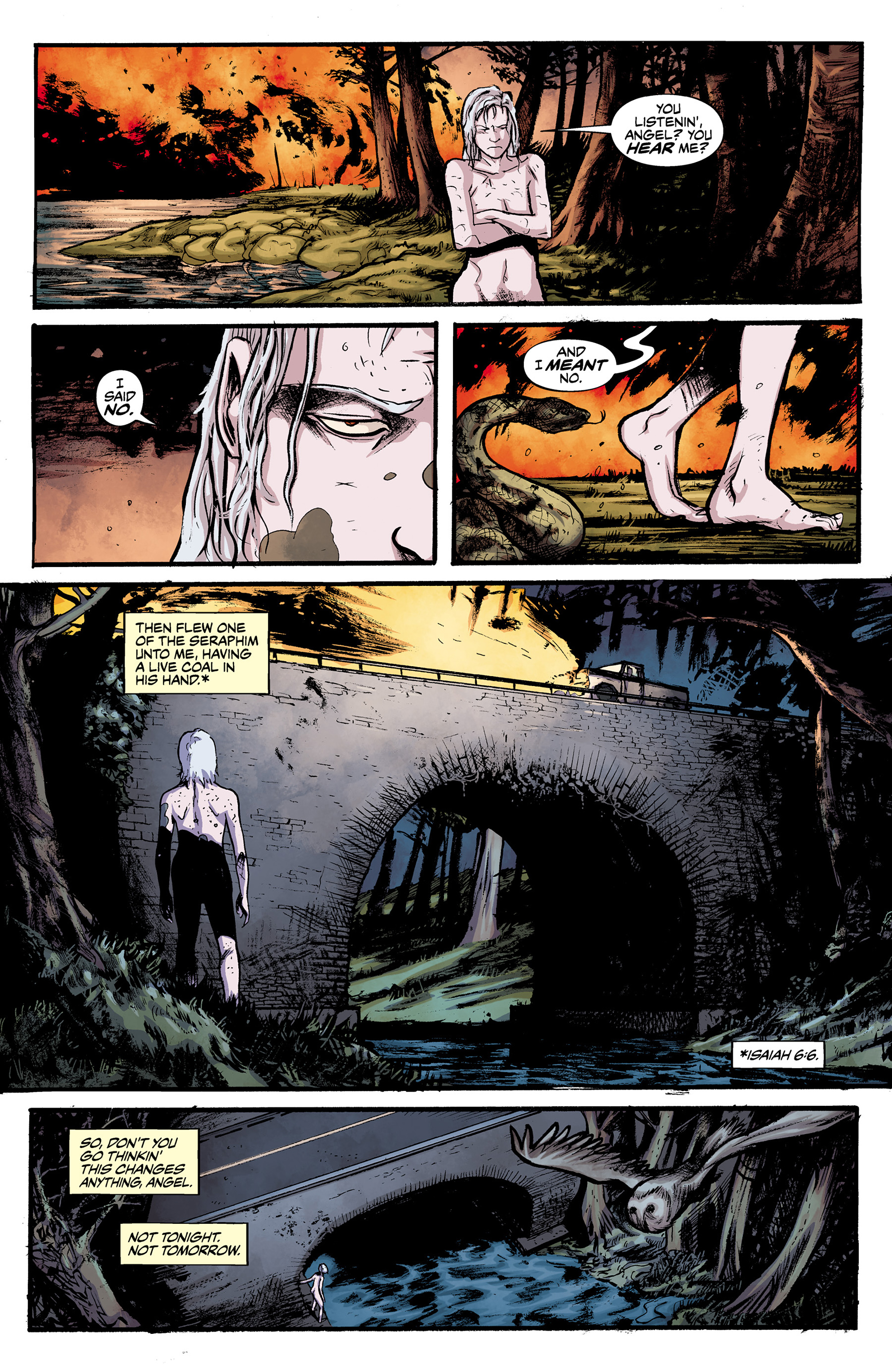 Read online Alabaster: The Good, the Bad and the Bird comic -  Issue #3 - 12