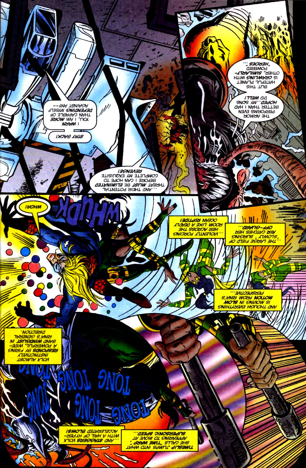 The New Warriors Issue #74 #78 - English 7
