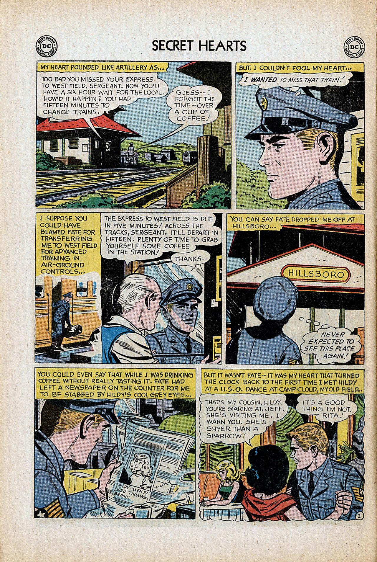 Read online Secret Hearts comic -  Issue #86 - 12