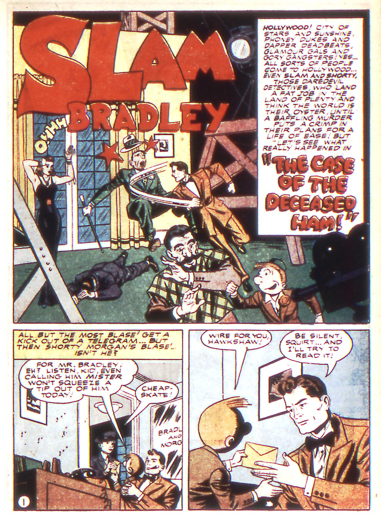 Read online Detective Comics (1937) comic -  Issue #81 - 17