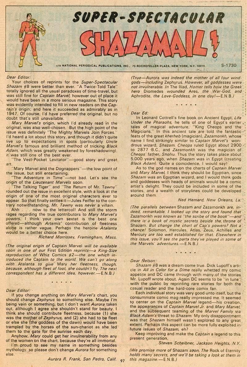 Read online Shazam! (1973) comic -  Issue #12 - 86