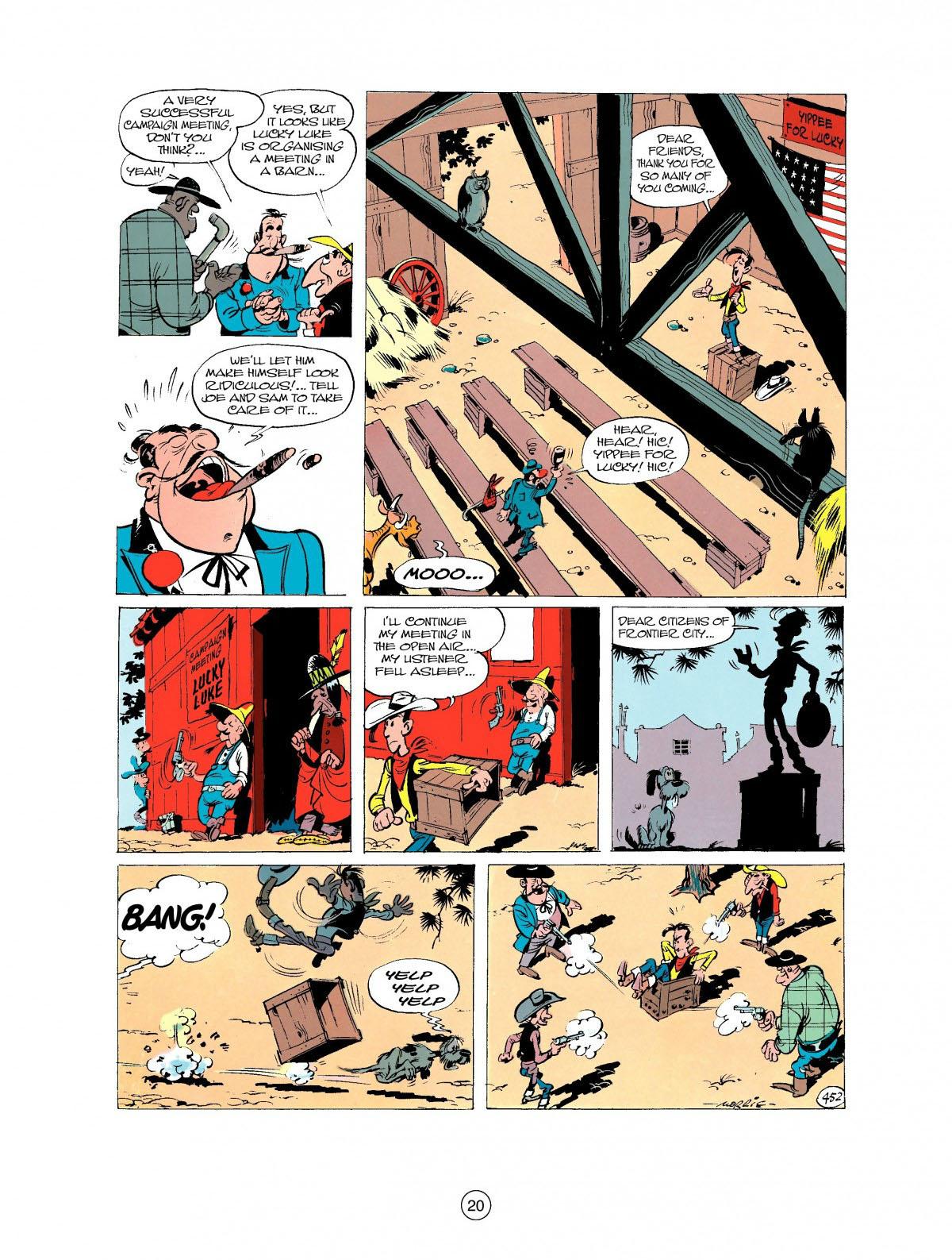 Read online A Lucky Luke Adventure comic -  Issue #27 - 21