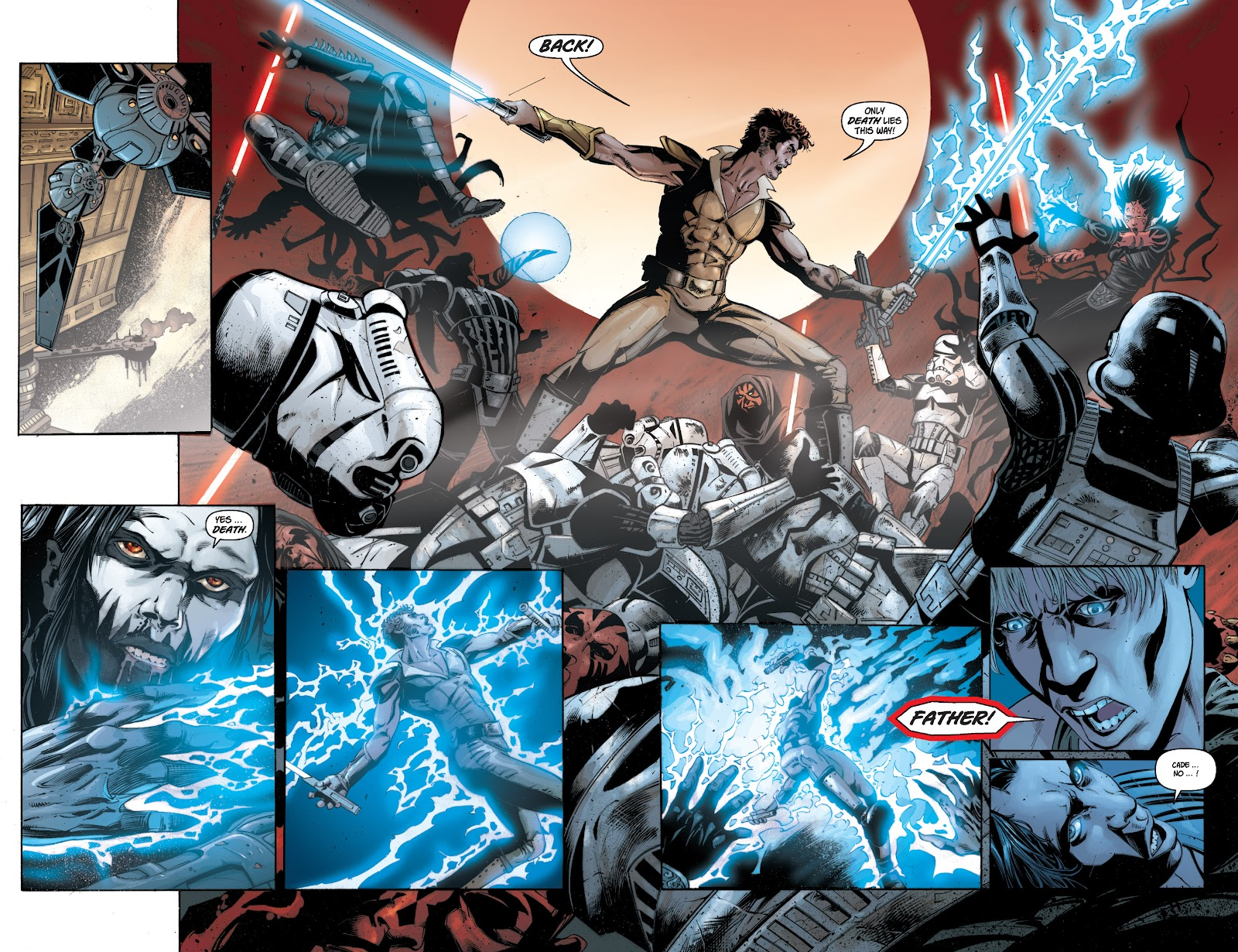 Read online Star Wars Legends: Legacy - Epic Collection comic -  Issue # TPB 1 (Part 1) - 14