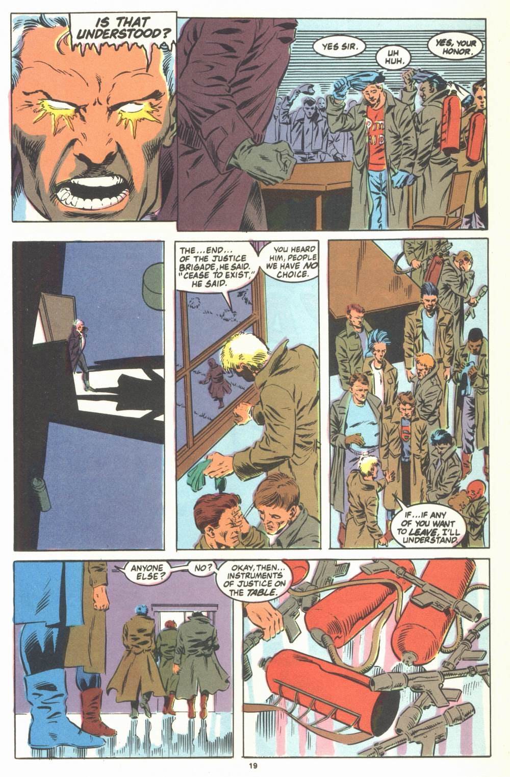 Read online Justice (1986) comic -  Issue #23 - 21