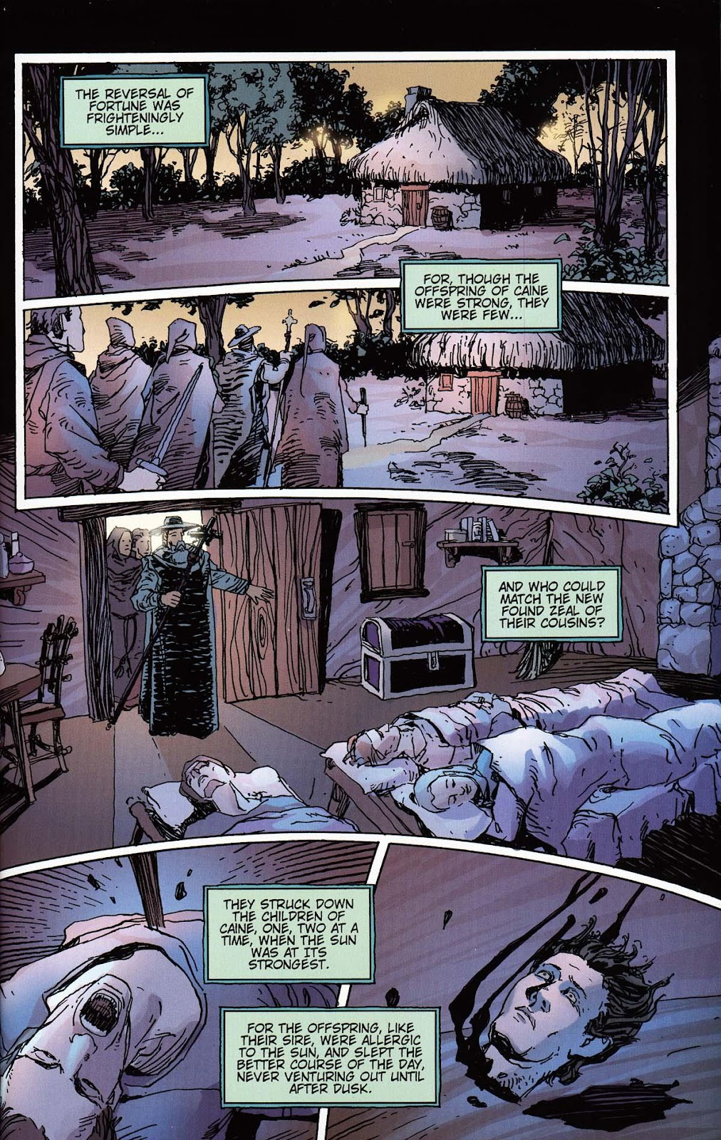 Read online Vampire the Masquerade comic -  Issue # Toreador - 31