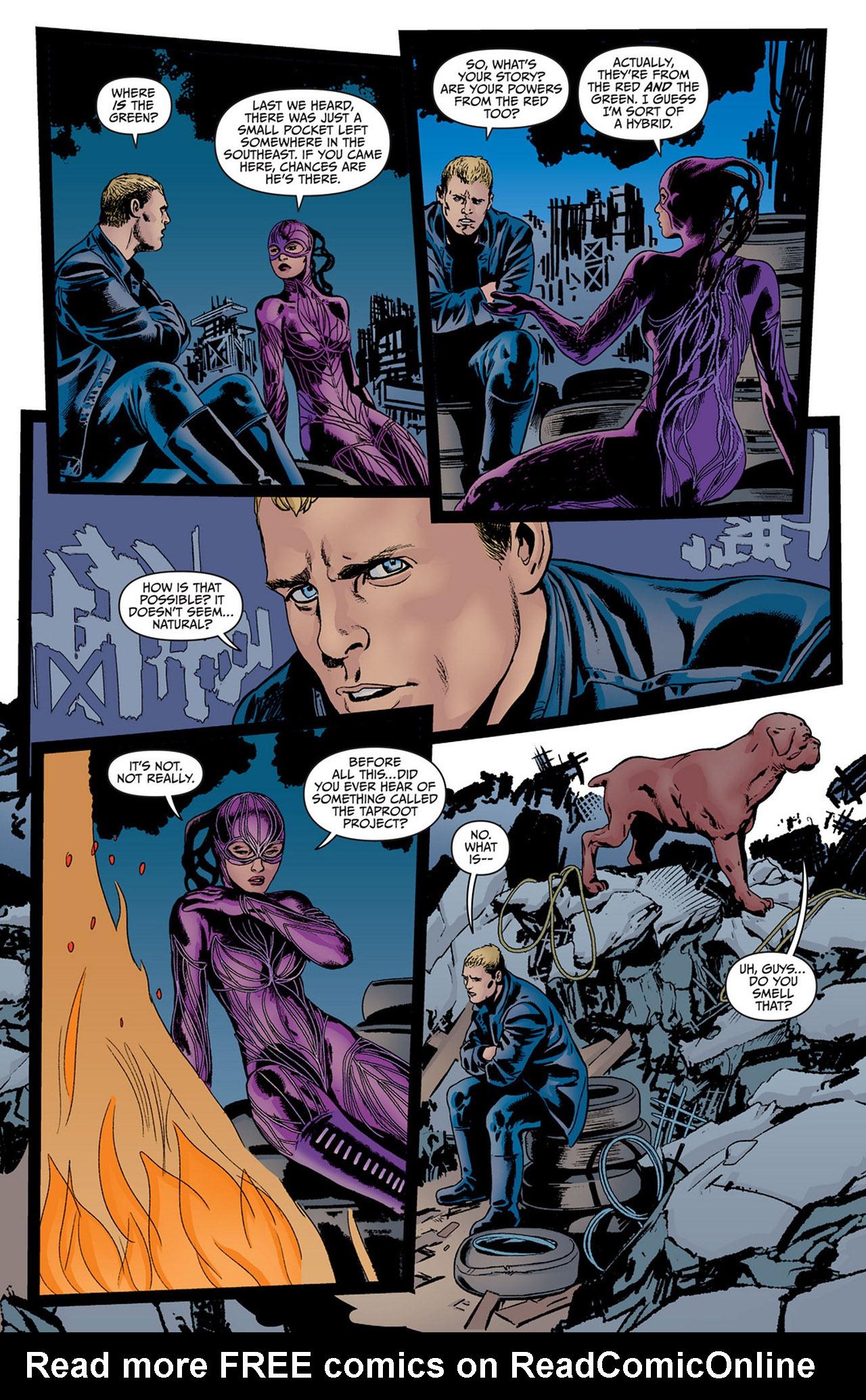 Read online Animal Man (2011) comic -  Issue #14 - 18