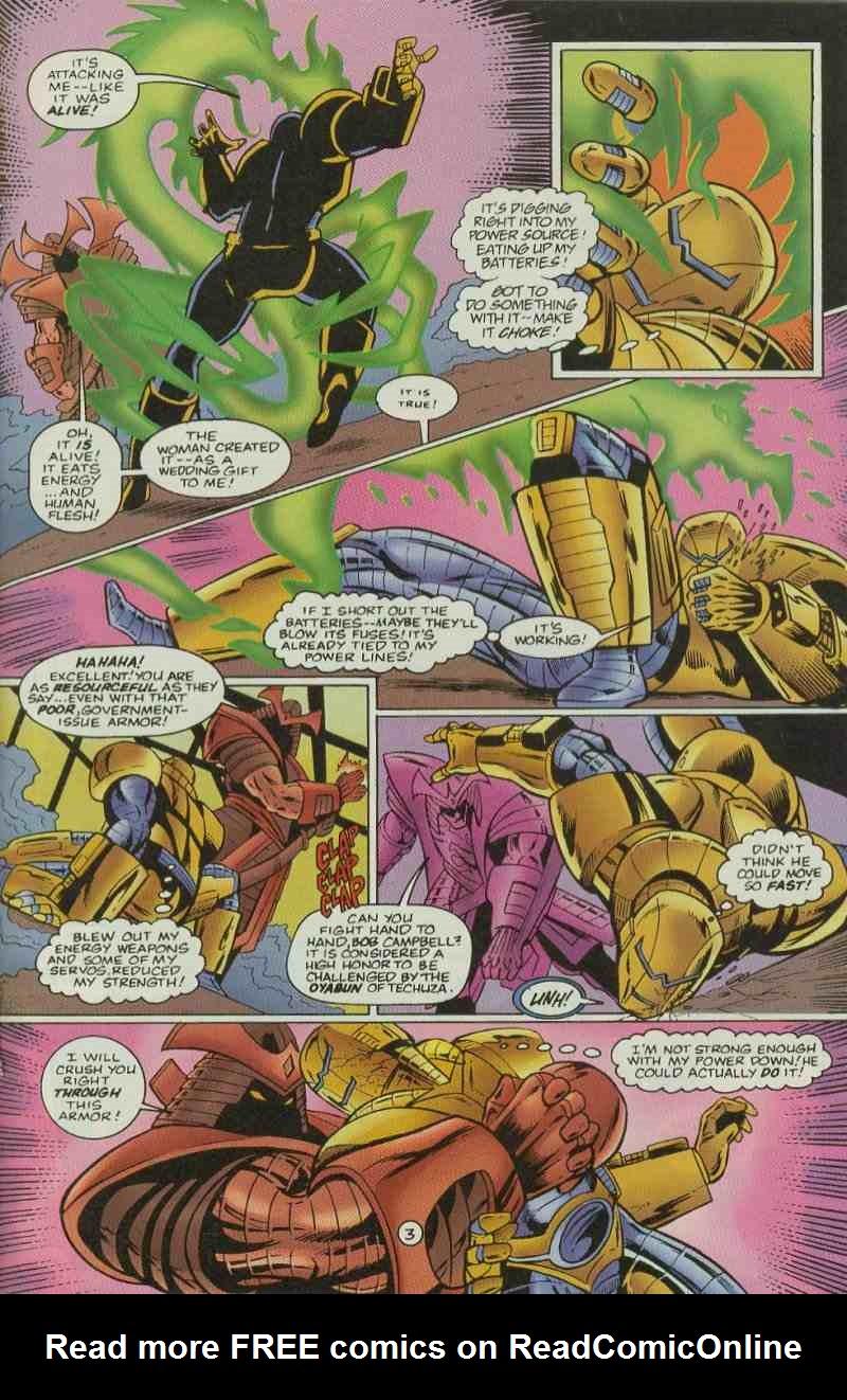 Read online Ultraverse Premiere comic -  Issue #11 - 31