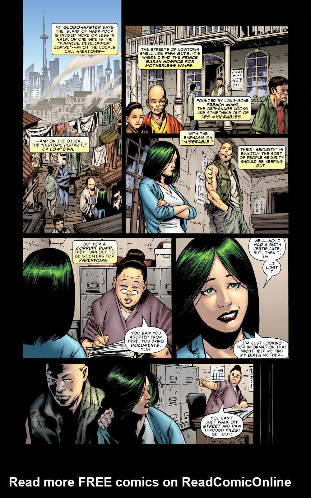 Read online Amazing Fantasy (2004) comic -  Issue #8 - 5