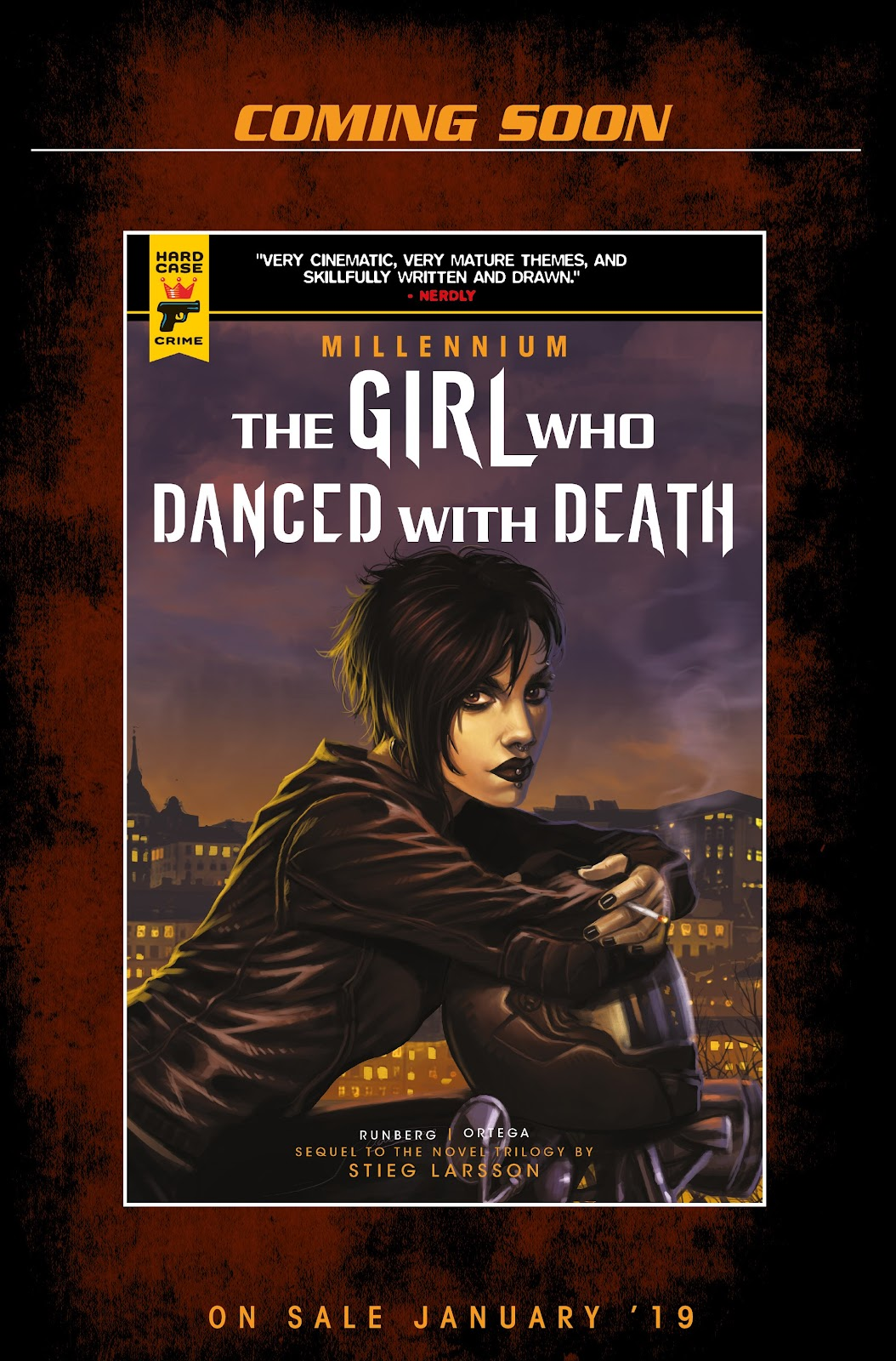 Read online Millennium: The Girl Who Danced With Death comic -  Issue #3 - 68