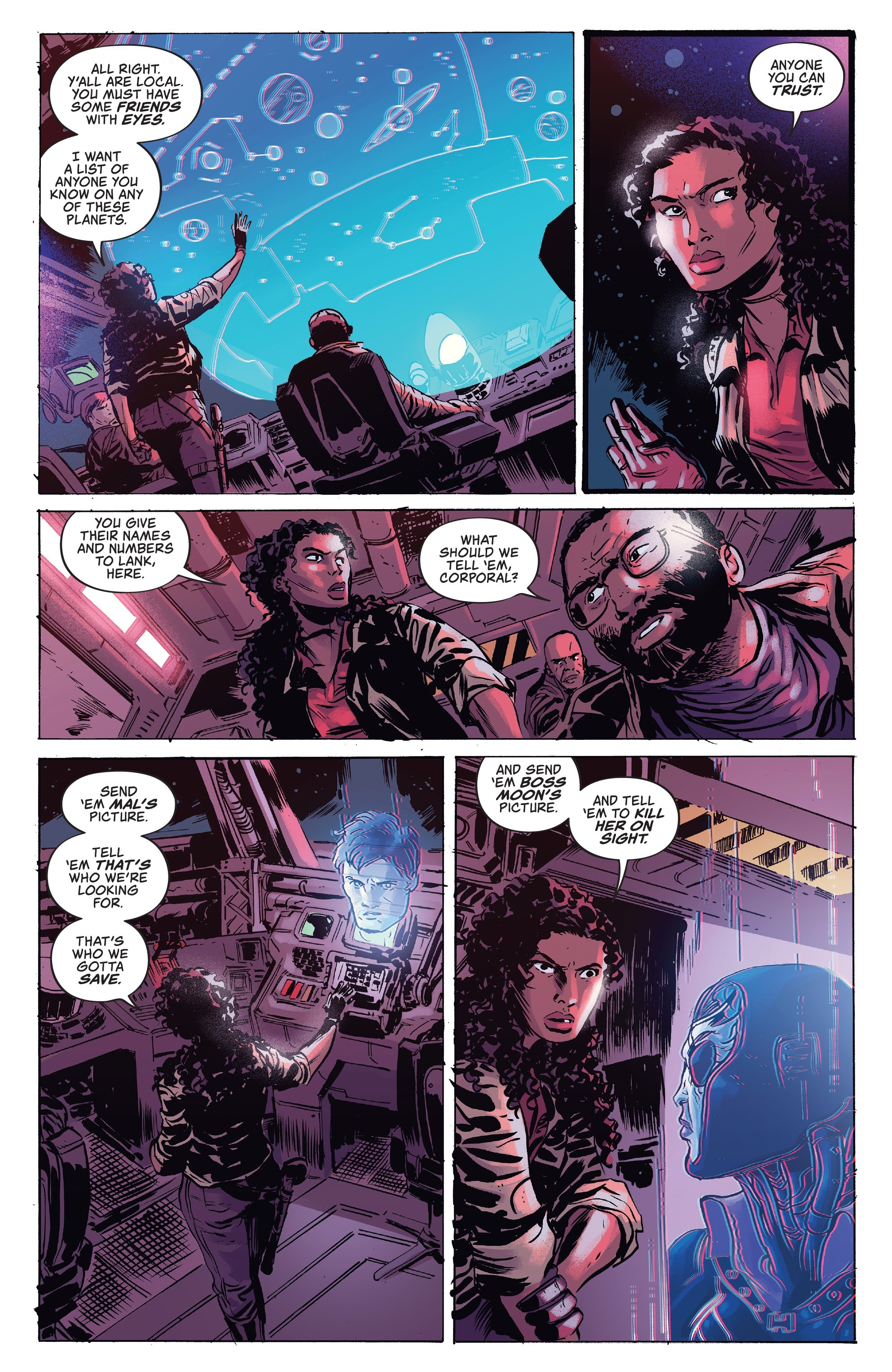 Read online Firefly comic -  Issue #7 - 18