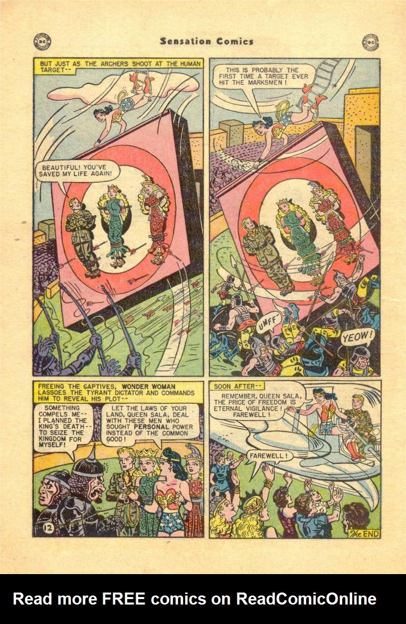 Read online Sensation (Mystery) Comics comic -  Issue #84 - 14