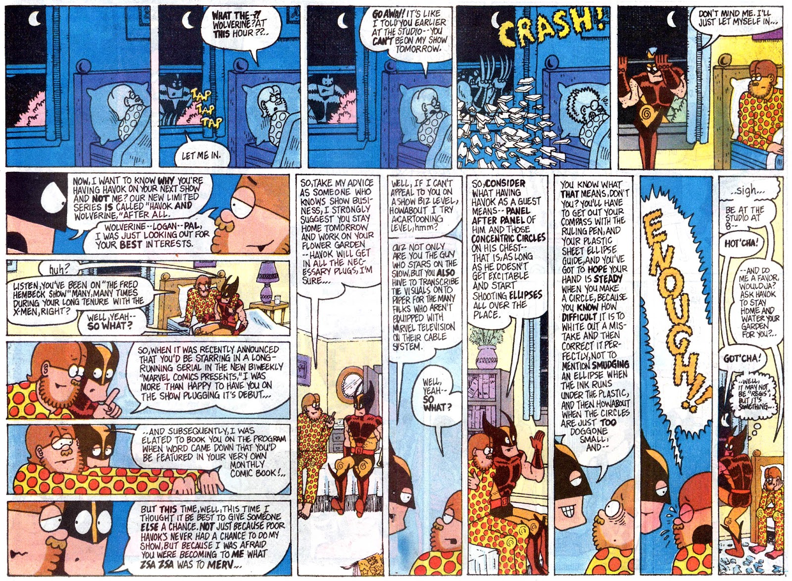 Fred Hembeck Sells the Marvel Universe issue Full - Page 9