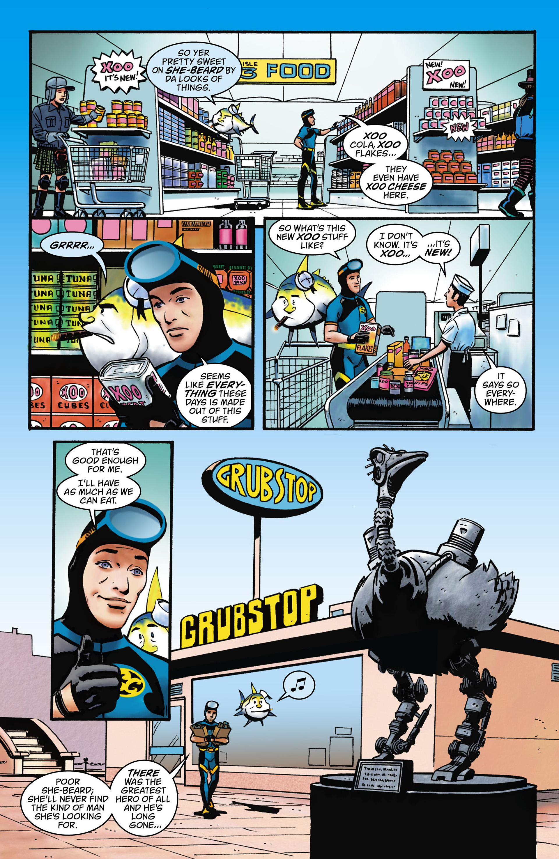 Read online Seaguy comic -  Issue #1 - 8
