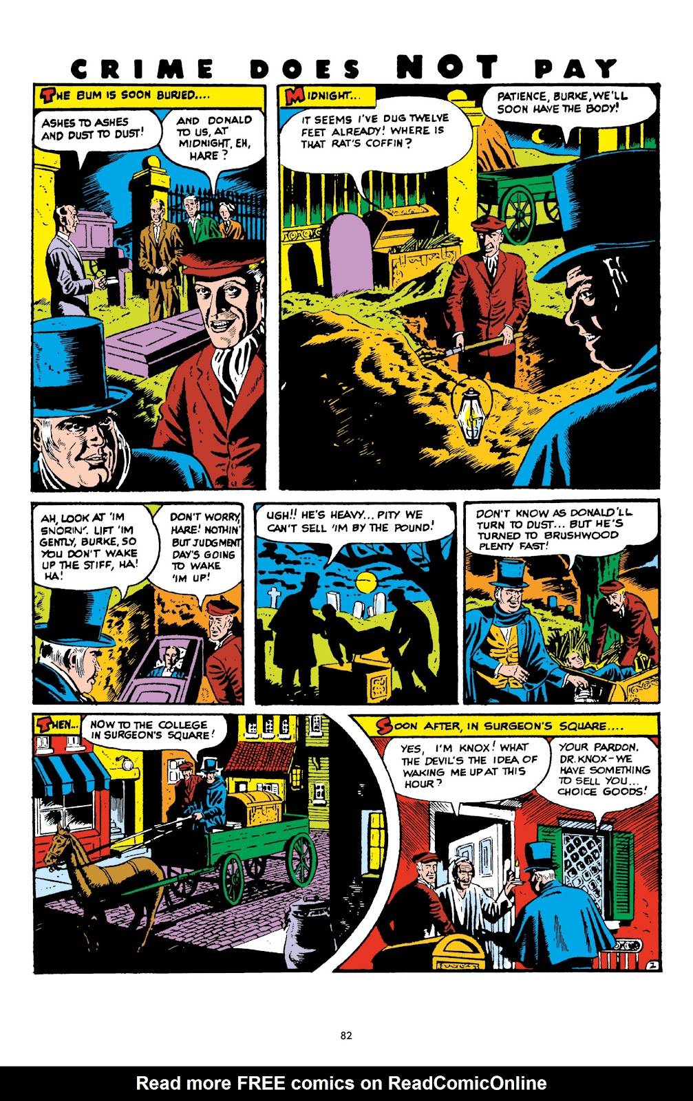 Read online Crime Does Not Pay Archives comic -  Issue # TPB 6 (Part 1) - 84