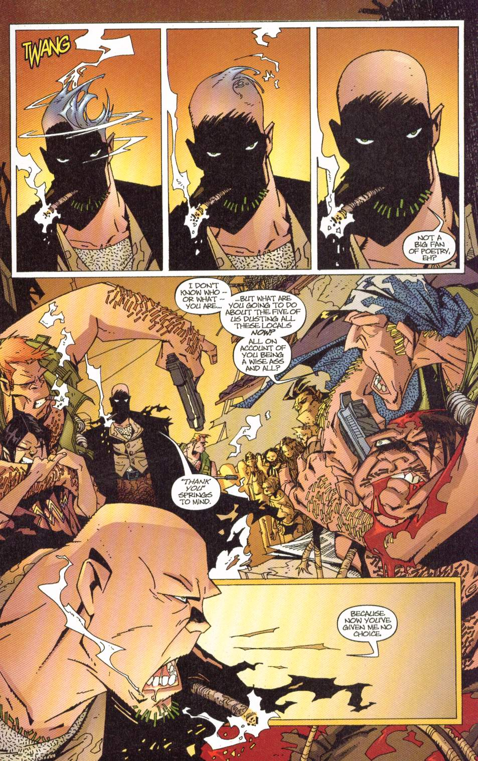 Wildcats (1999) Issue #7 #8 - English 8